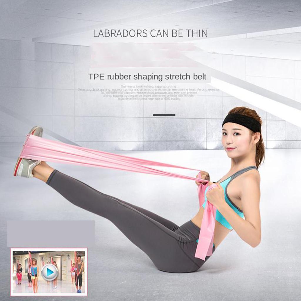 Fasce-per-esercizi-professionali-Fasce-elastiche-lunghe-perfette-per miniatura 8