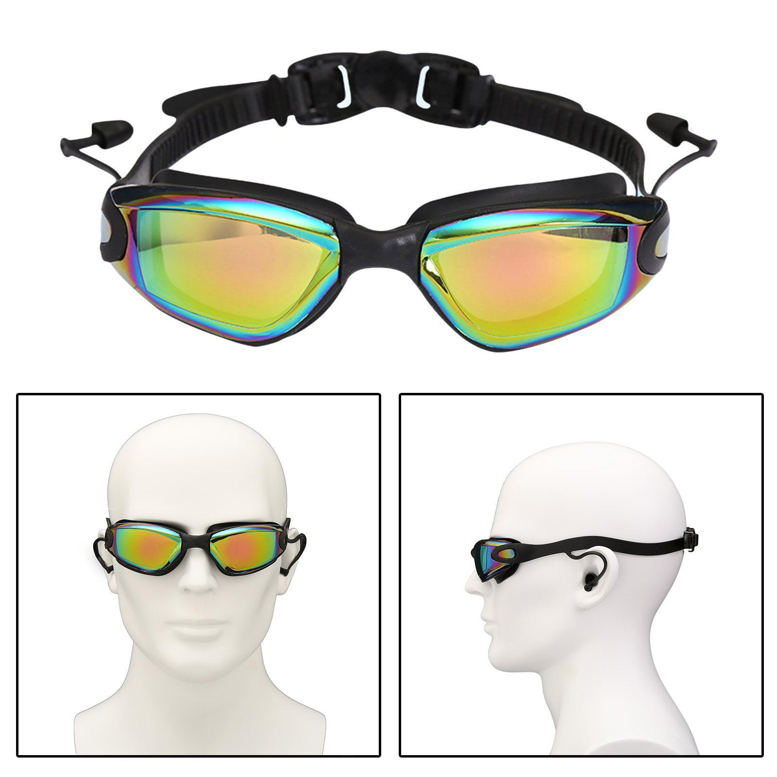 miniatura 5 - Occhialini da nuoto, protezione UV Occhialini da nuoto anti-appannamento Unisex