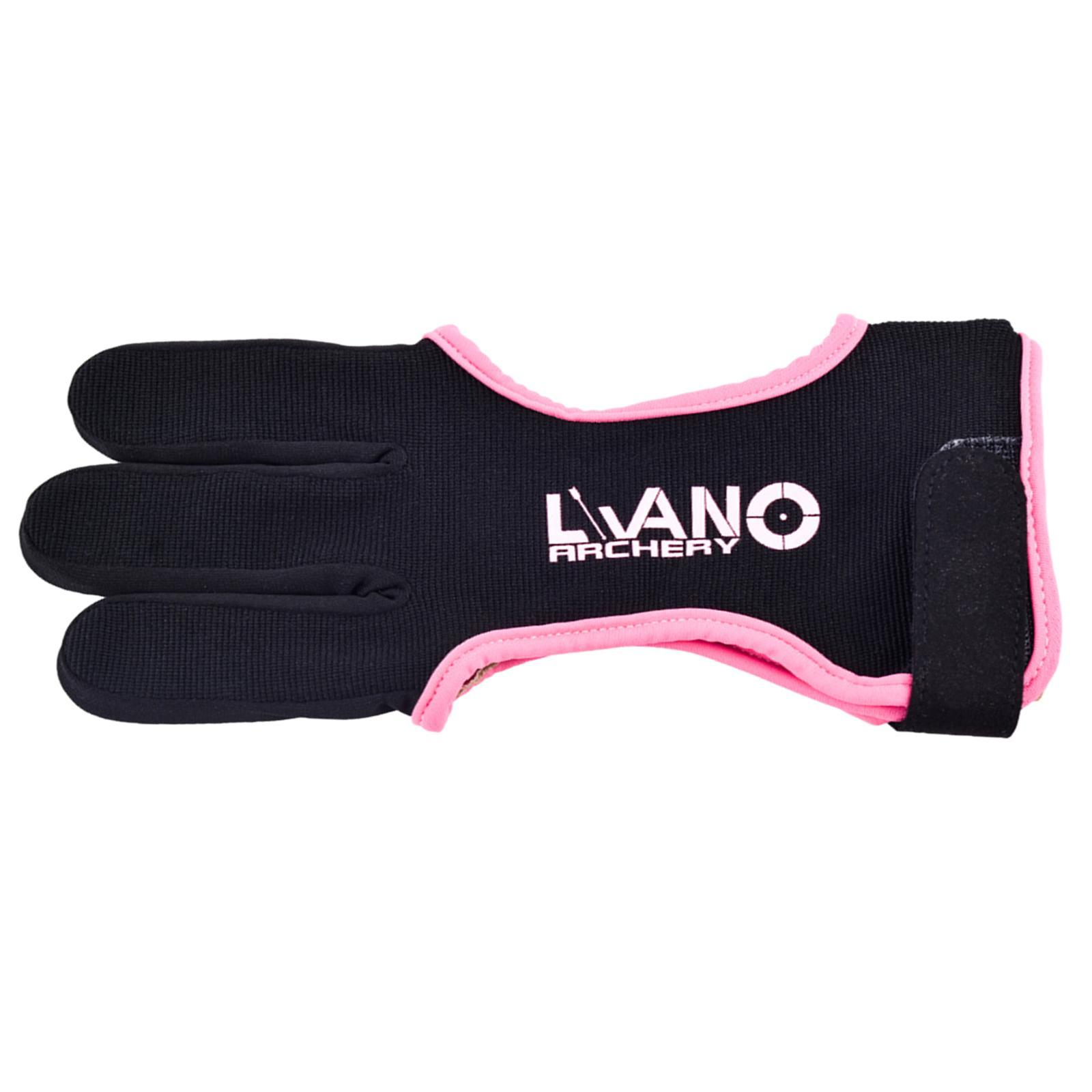 thumbnail 10 - 1 Piece Archery Gloves Shooting Hunting Leather Three Finger Protector for Youth