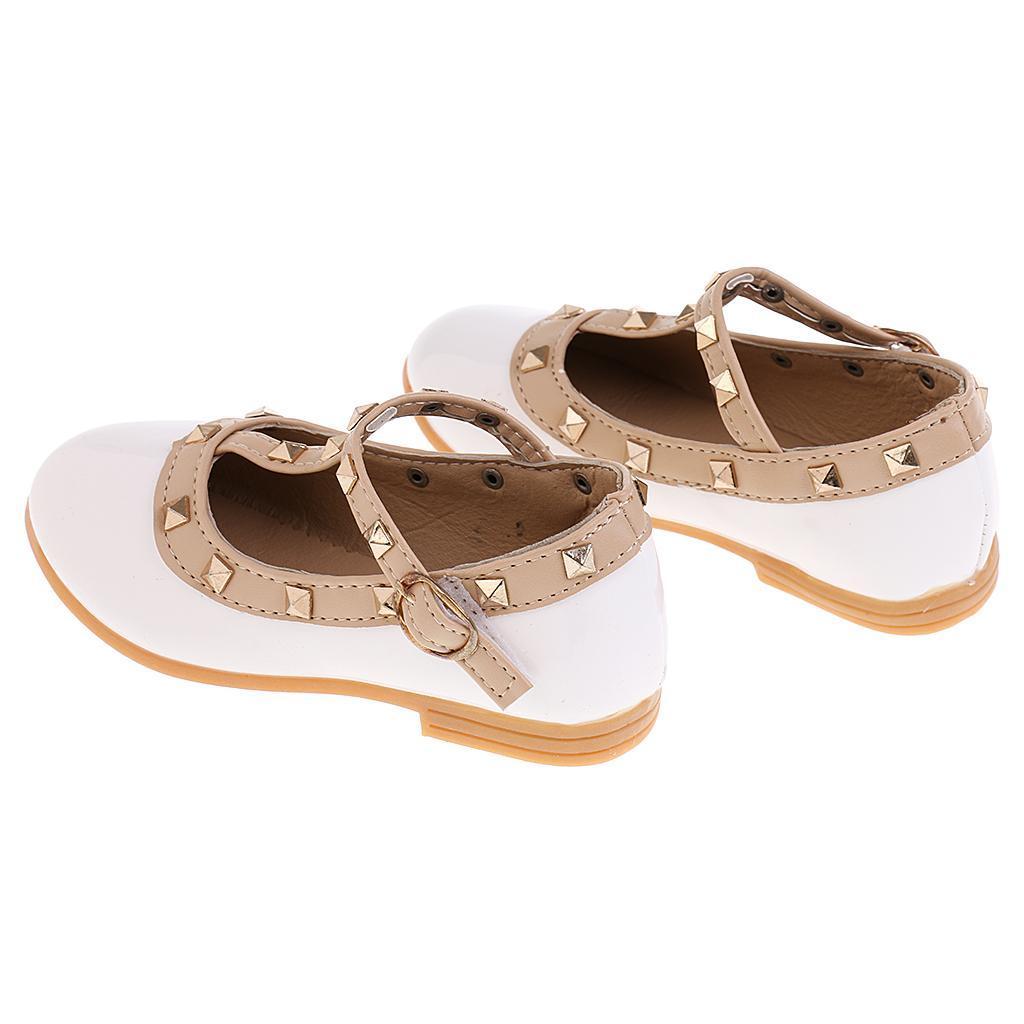 Chaussures-Pour-Enfant-Ballet-Sandales-Paire-Blanc-Accessoire-De-Danse-Fille miniature 15