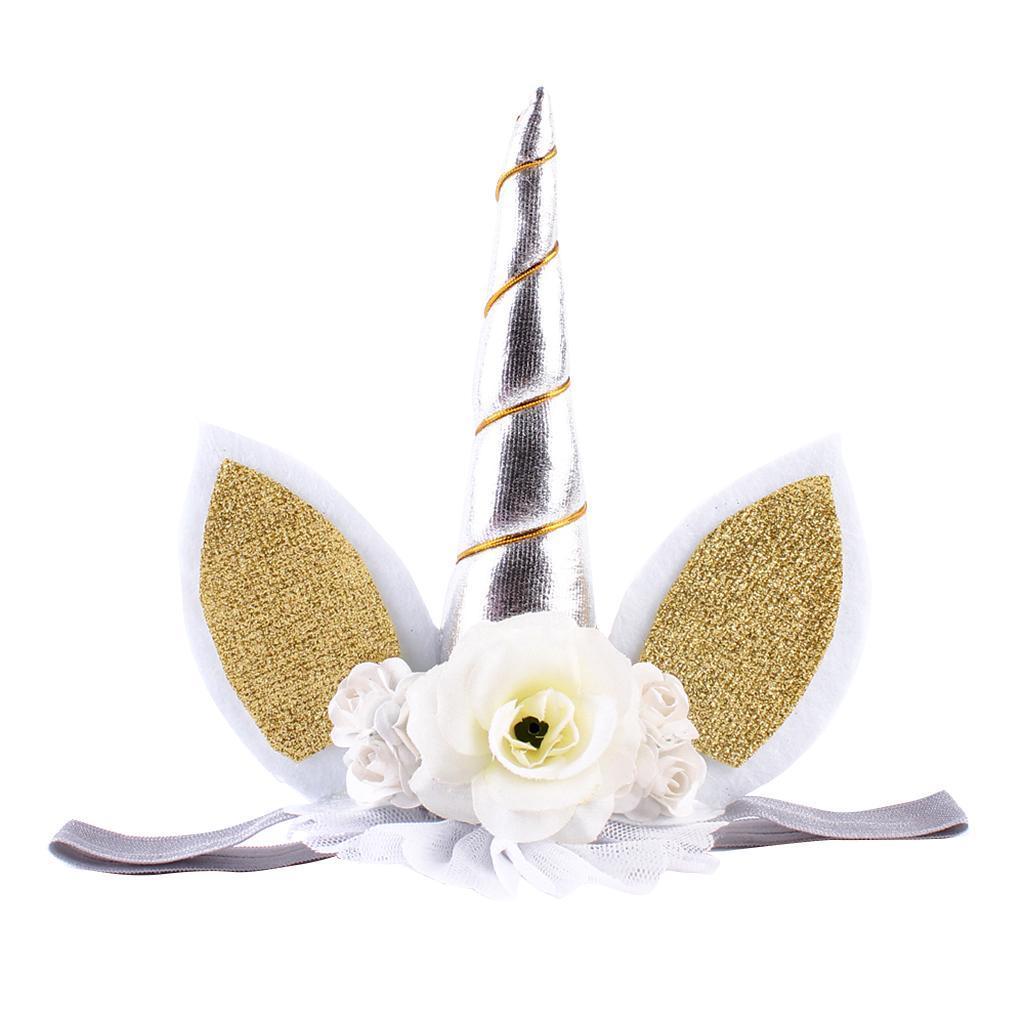Bandeaux-Cheveux-Serre-Tete-Enfant-Fille-Couronne-Forme-Photo-Prop-Bebe-Bijoux miniature 8