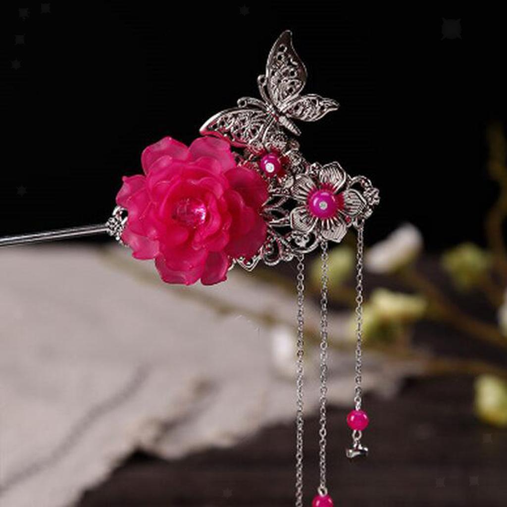 miniatura 22 - Bastoni Cinesi Accessori dei Capelli Capricapi Spilla Gioielli di Donne Ragazze