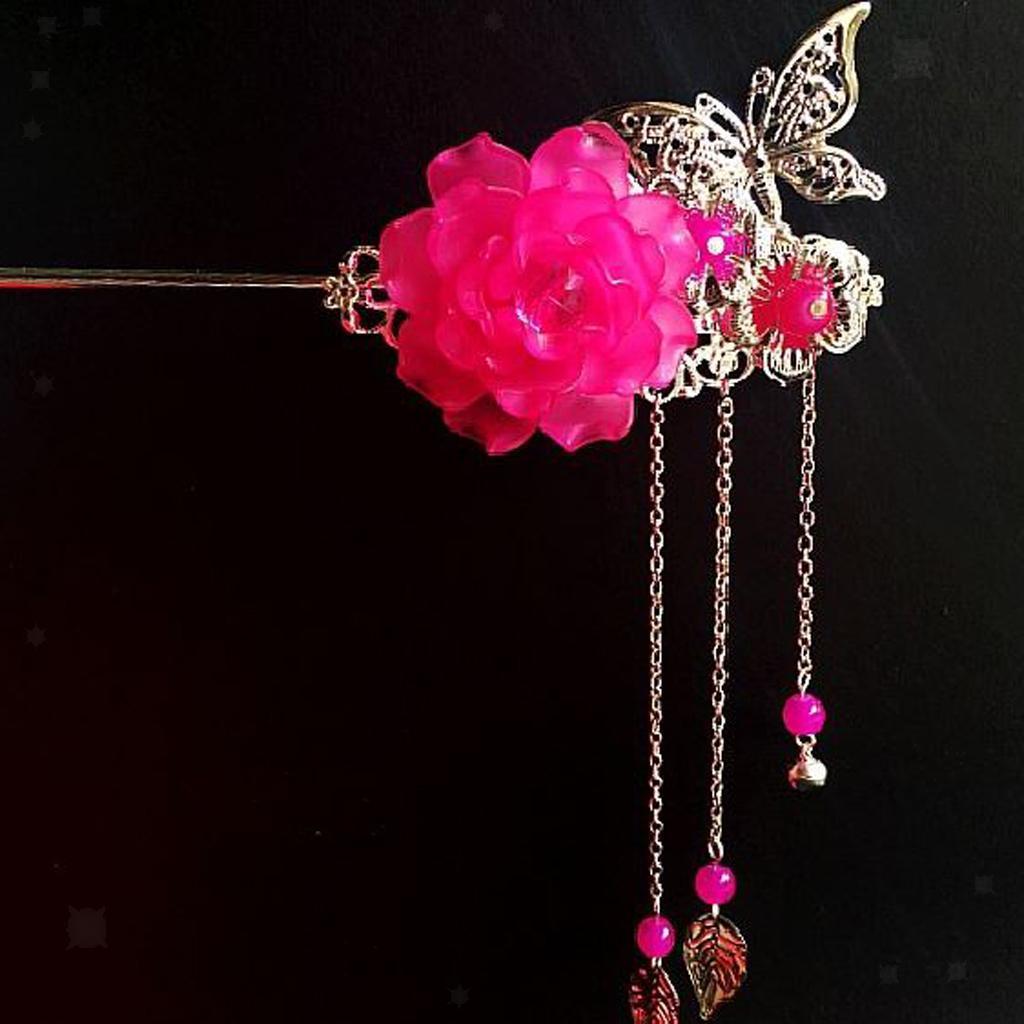 miniatura 23 - Bastoni Cinesi Accessori dei Capelli Capricapi Spilla Gioielli di Donne Ragazze