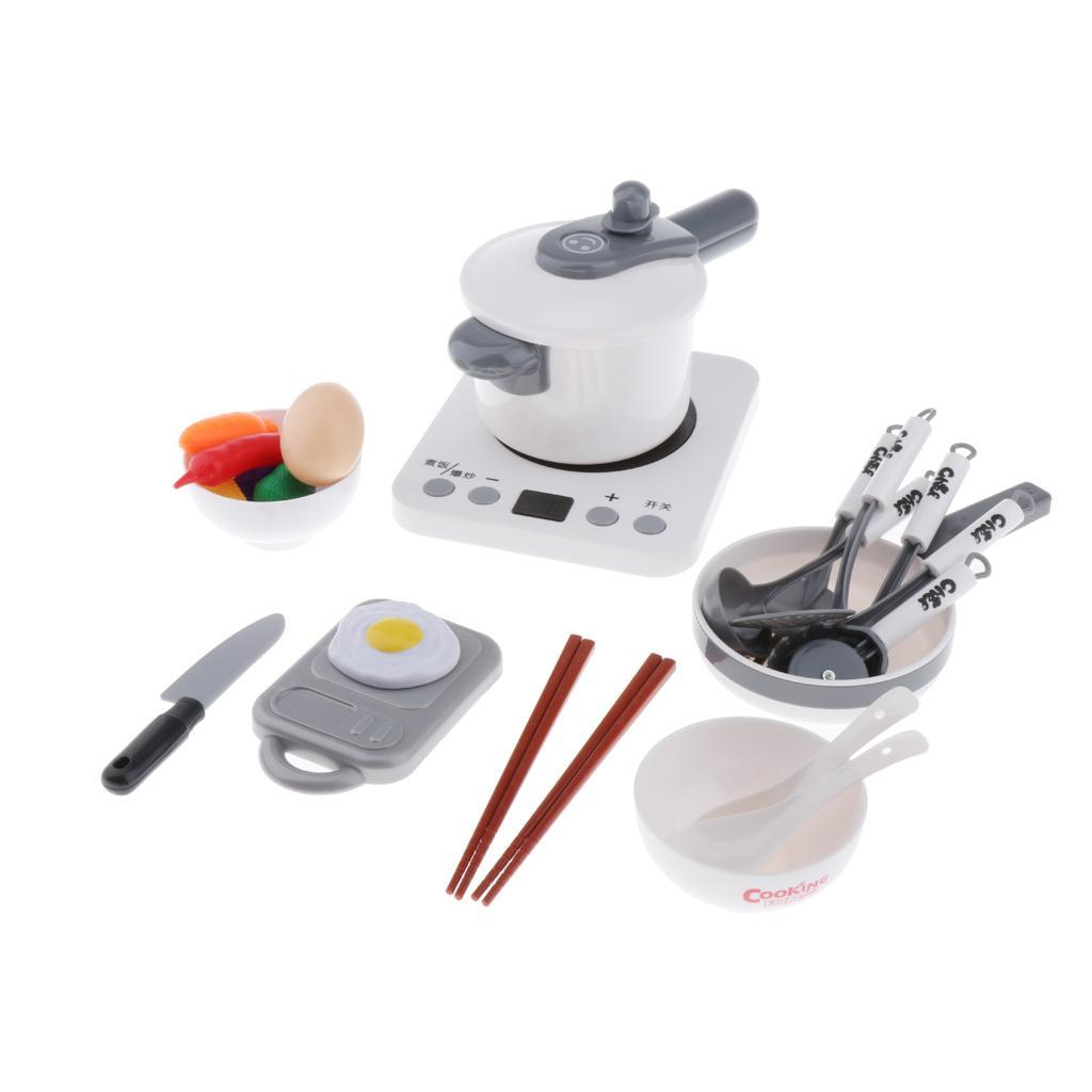 Kitchen-Pretend-Play-Accessories-Toys-Cookware-Set-Cooking-Utensils-for-Kids thumbnail 9