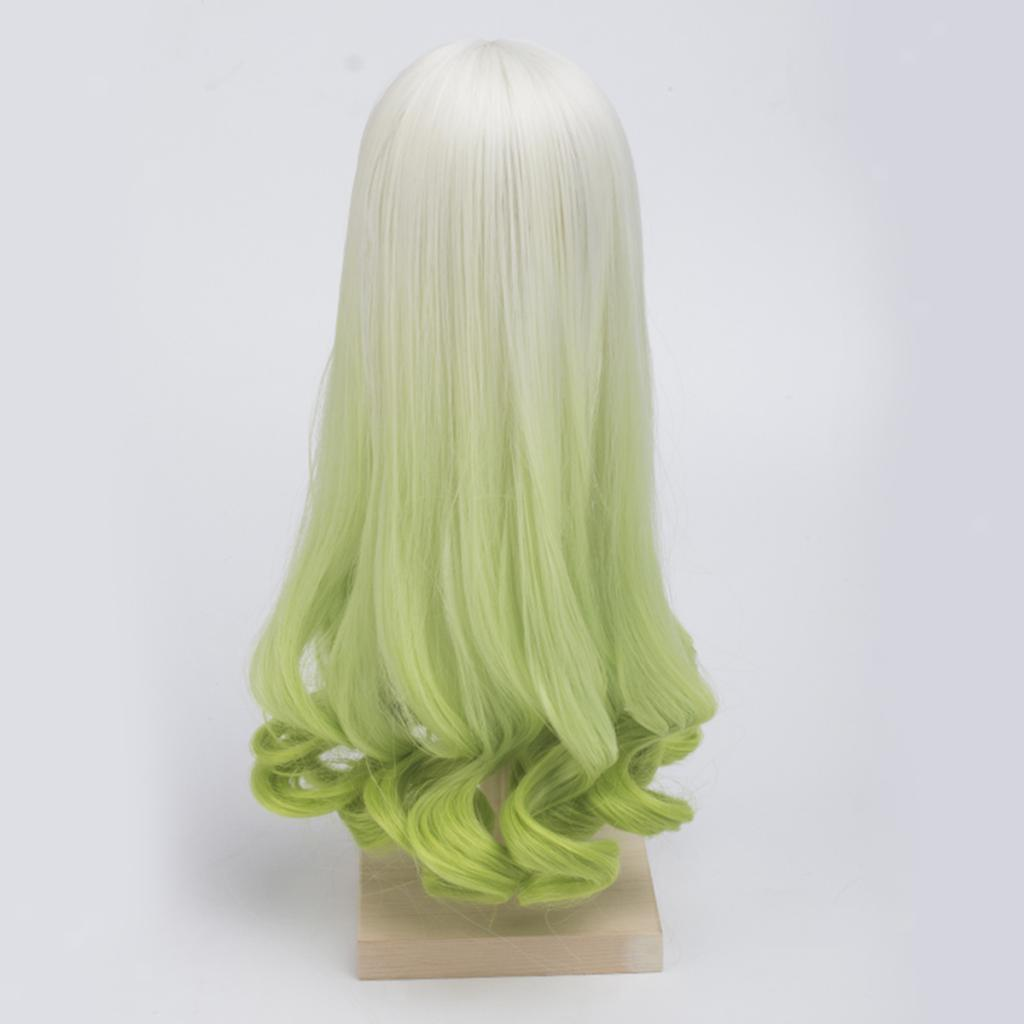 Long-Curly-Wig-30cm-for-Night-Lolita-for-Dollfie-for-MSD-1-3-1-4-BJD-Doll thumbnail 12