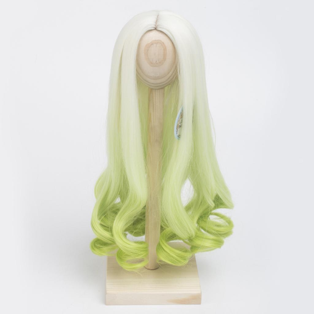Long-Curly-Wig-30cm-for-Night-Lolita-for-Dollfie-for-MSD-1-3-1-4-BJD-Doll thumbnail 13