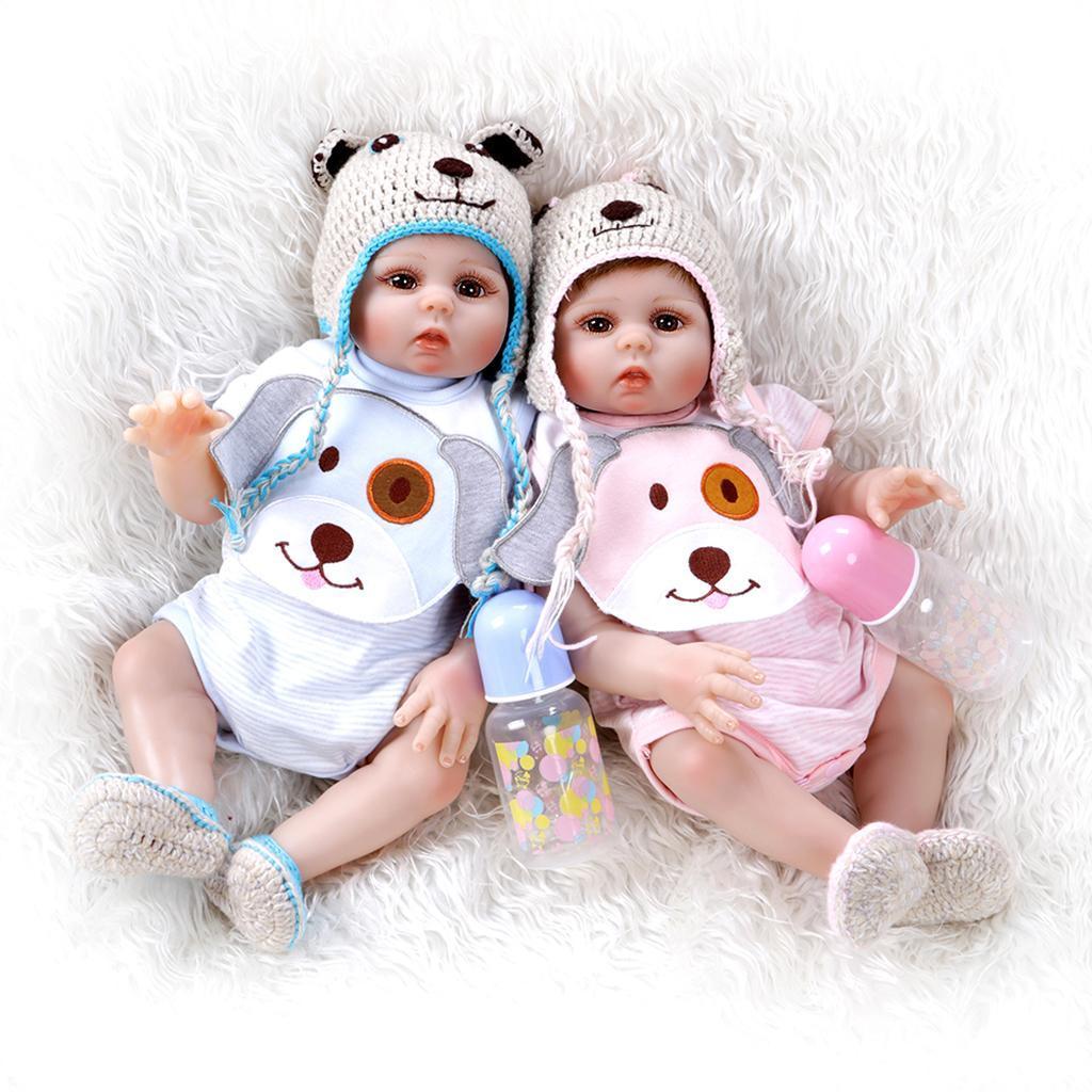 Realistic-Reborn-Dolls-Girls-19-039-039-Looking-Lifelike-Big-Eyes-White-Skin-Doll thumbnail 7