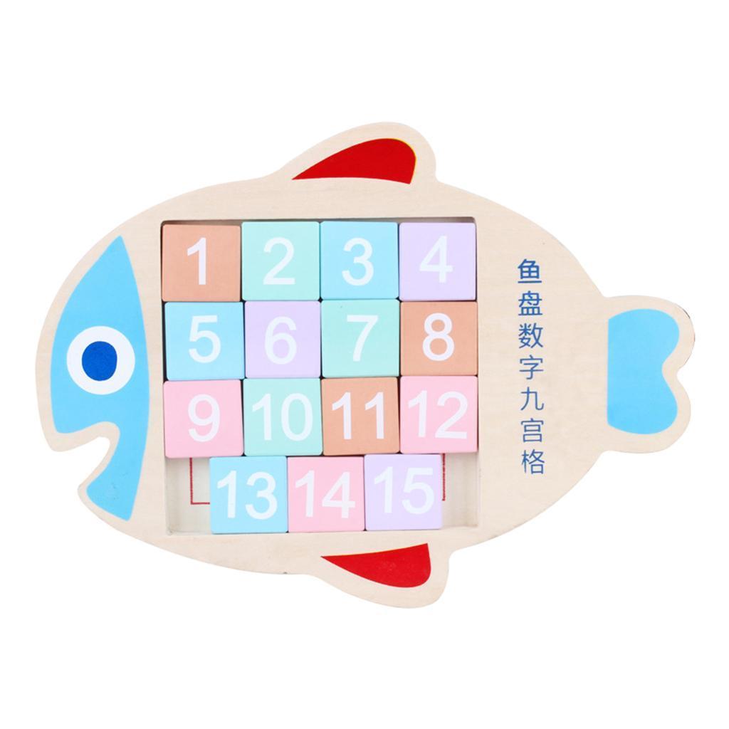 Jigsaw-Fish-Plate-Digital-Jigsaw-Toy-pour-enfants-Puzzle-Jouets-educatifs miniature 6