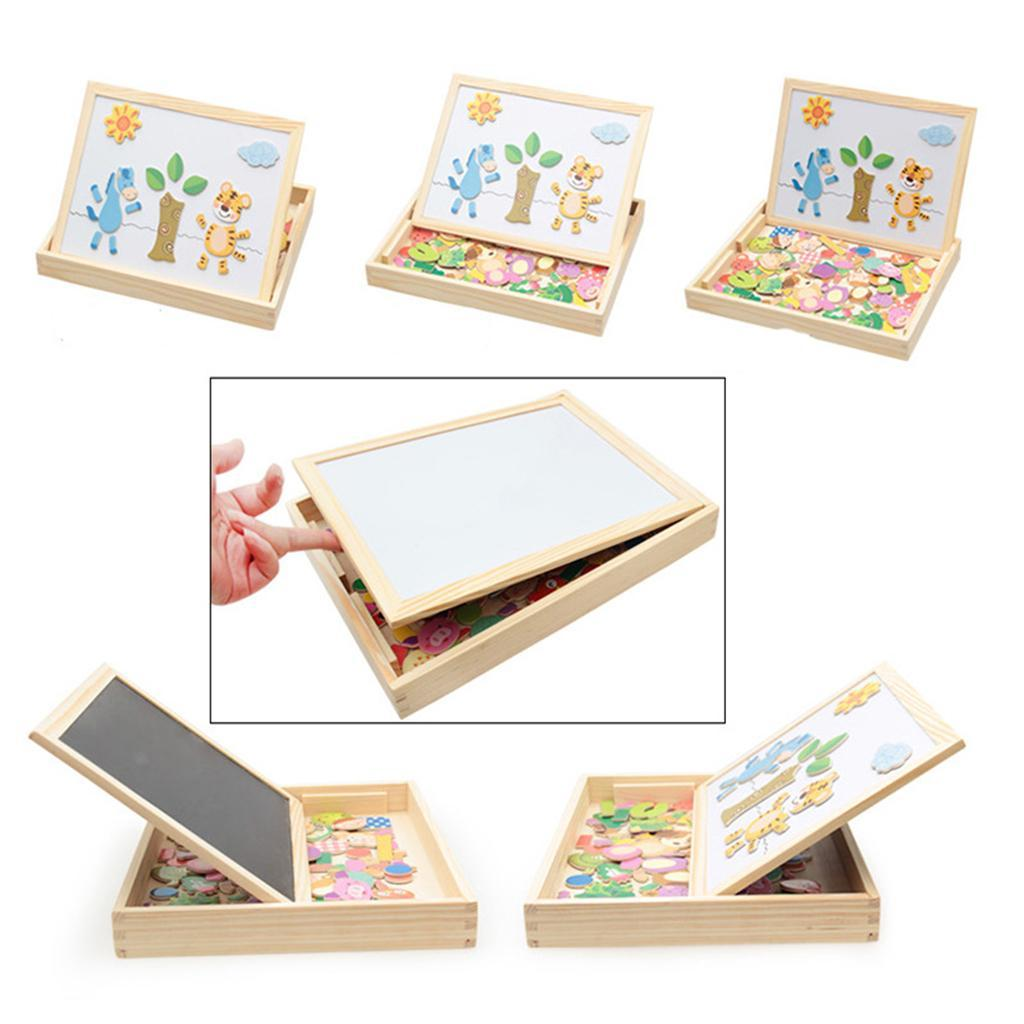 thumbnail 18 - Educational Magnetic Drawing Board 3D Puzzles Drawing Toys Halloween Gift