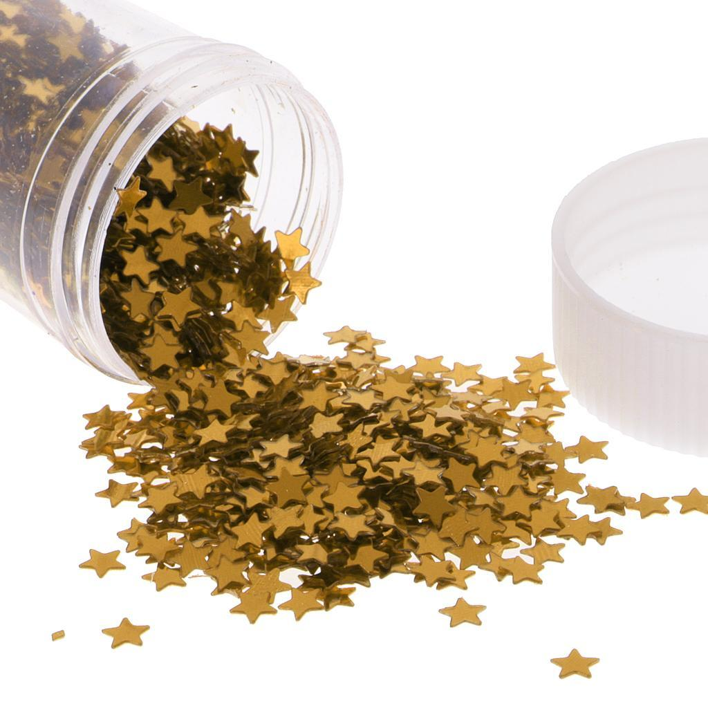Metallic-Star-Heart-Balloon-Confetti-Wedding-Table-Scatter-Decor-Gold-Silver-Red miniature 4
