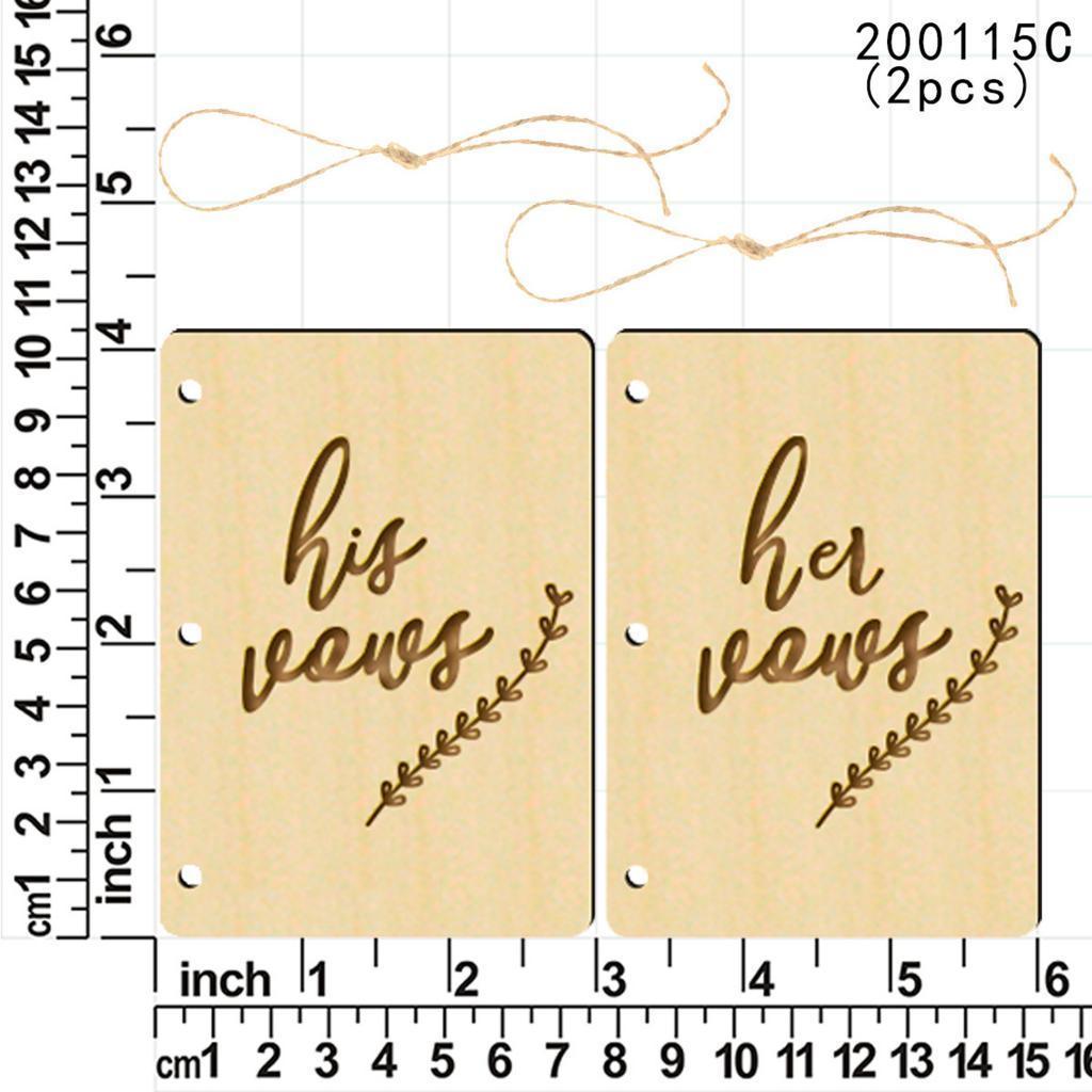 Indexbild 36 - Holz-Stueck-Holz-Tags-Zeichen-Unfinished-Hochzeit-Party-Favor-Geschenke-DIY