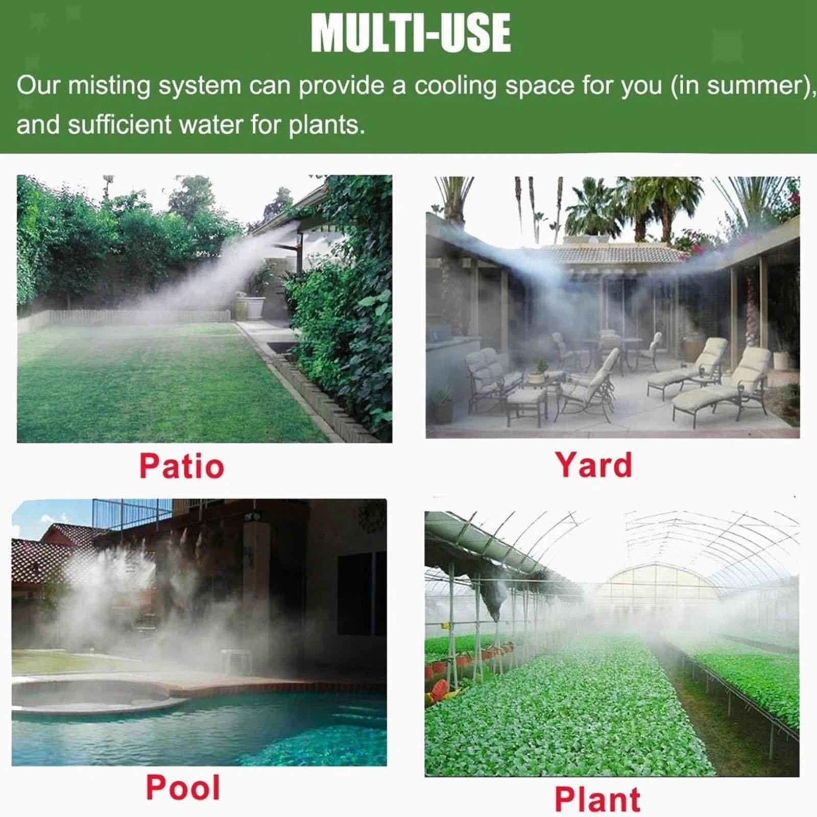 miniatura 22 - Trampolino di Acqua Sprinkler A Spruzzo Nebbia Giardino Estate Giochi