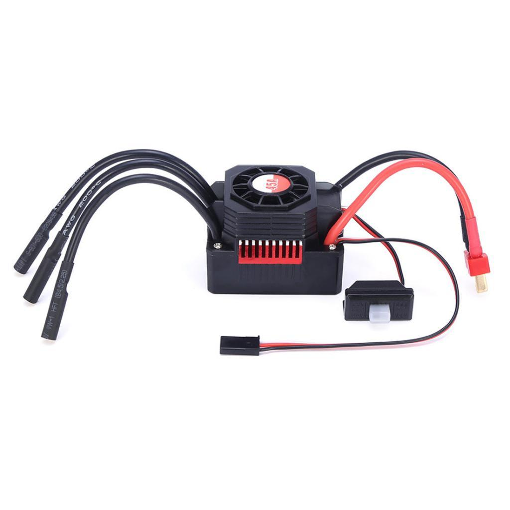1pc-1-10-Brushless-Motor-Waterproof-45A-ESC-Set-for-1-10-RC-Car-Tamiya-Parts miniature 7