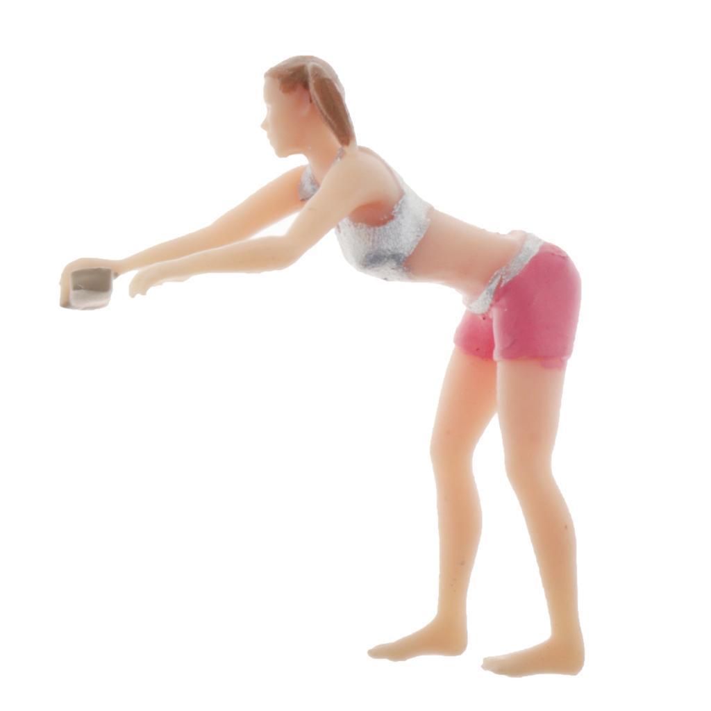 1-64-Bambola-Di-Lavoro-Modello-In-Miniatura-Personaggio-Fai-Da-Te-Autolavaggio miniatura 5