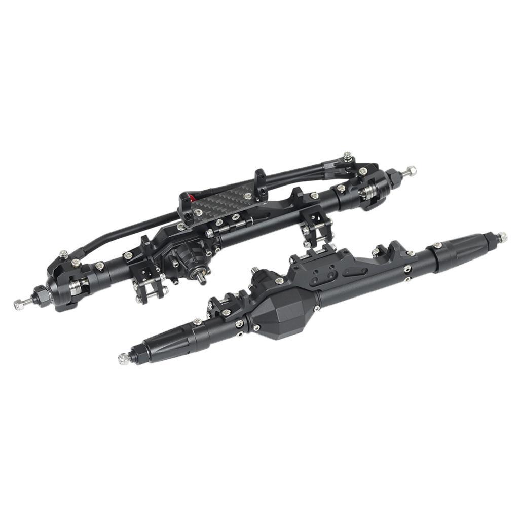 Assale-anteriore-posteriore-in-lega-di-alluminio-1-10-RC-Crawler-per-Axial miniatura 14