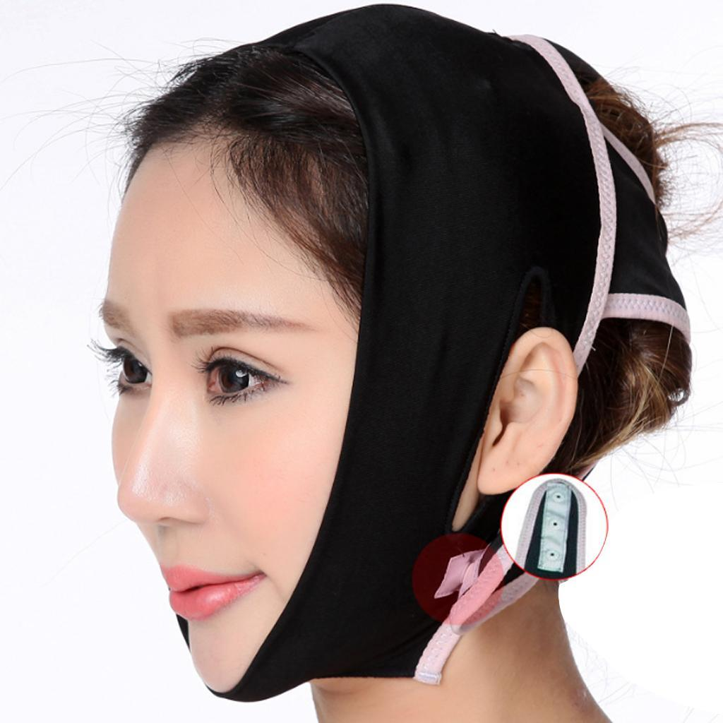 V-Gesicht-Kinn-Wange-Lift-Up-Abnehmen-Schlanke-Maske-Duenne-Gurtband-Band Indexbild 7