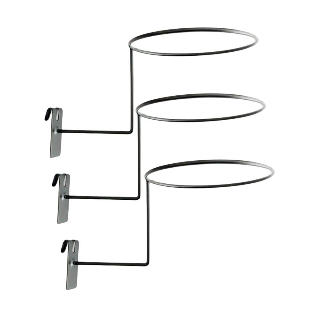 Supporto-per-casco-in-3-pezzi-supporto-per-cappello-supporto-a-muro-supporto miniatura 10