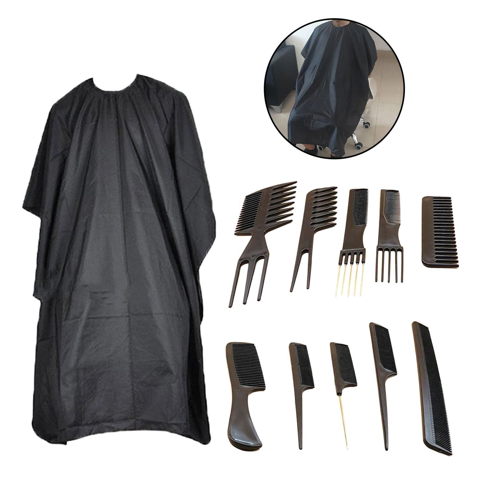 miniatura 3 - Parrucchiere Parrucchiere Spazzola per capelli Set di pettini Strumenti Taglio