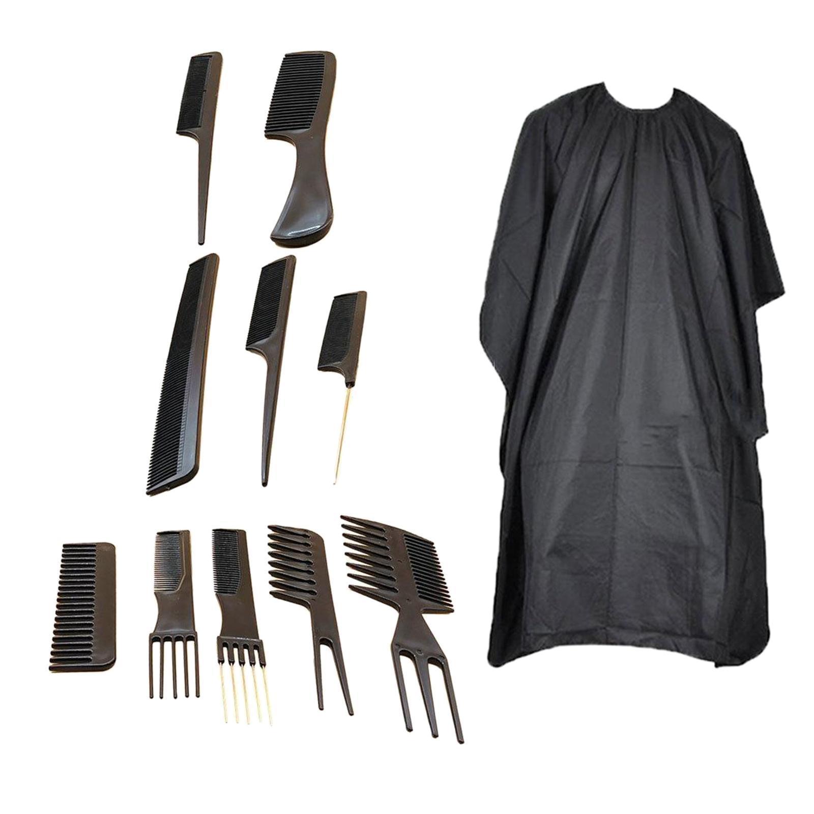 miniatura 8 - Parrucchiere barbiere spazzola per capelli pettine Set strumenti taglio capelli
