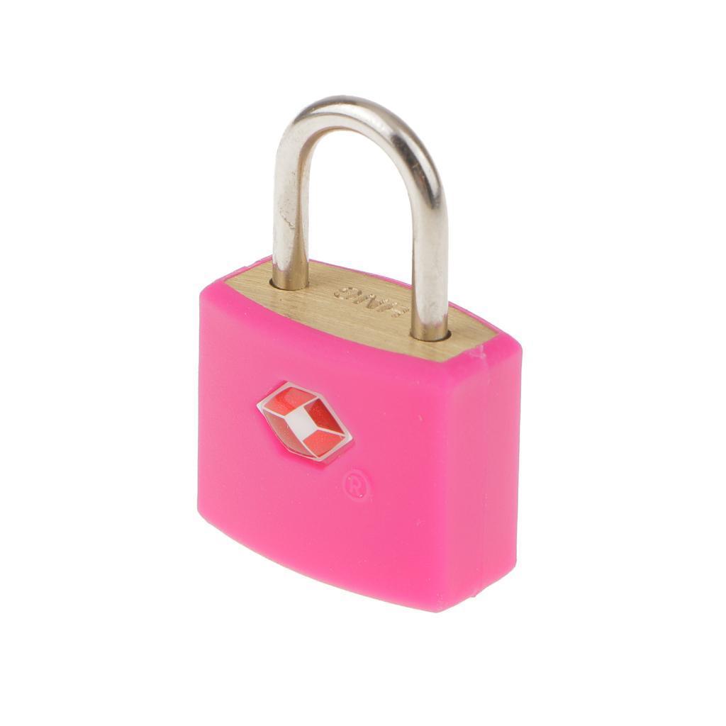 miniatura 4 - Robusto lucchetto di sicurezza TSA per valigia da viaggio con 2 chiavi