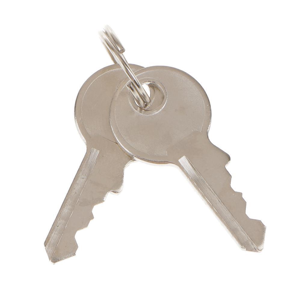 miniatura 3 - Robusto lucchetto di sicurezza TSA per valigia da viaggio con 2 chiavi