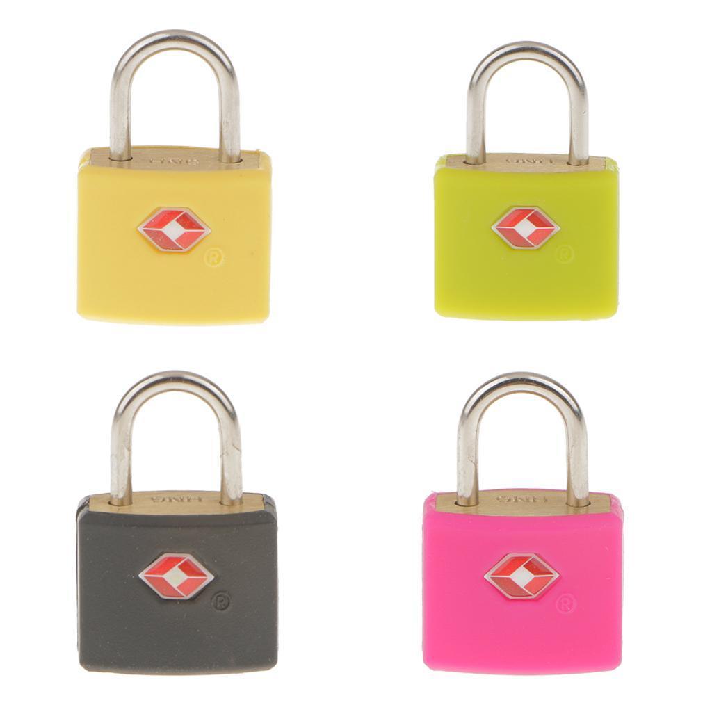 miniatura 4 - Lucchetto in metallo resistente Borsa da viaggio per valigia con chiave di