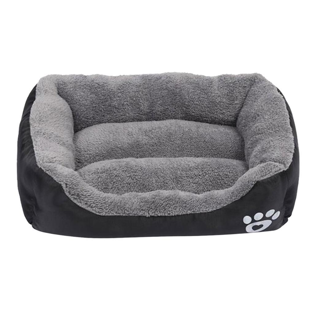 miniature 28 - Doux en peluche lit pour animaux de compagnie chien chat coussin de couchage