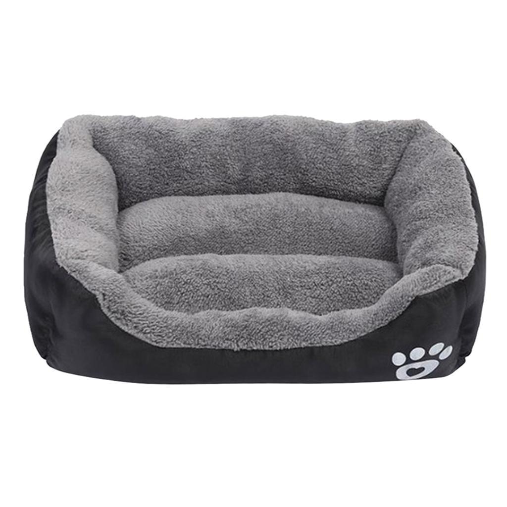 miniature 27 - Doux en peluche lit pour animaux de compagnie chien chat coussin de couchage