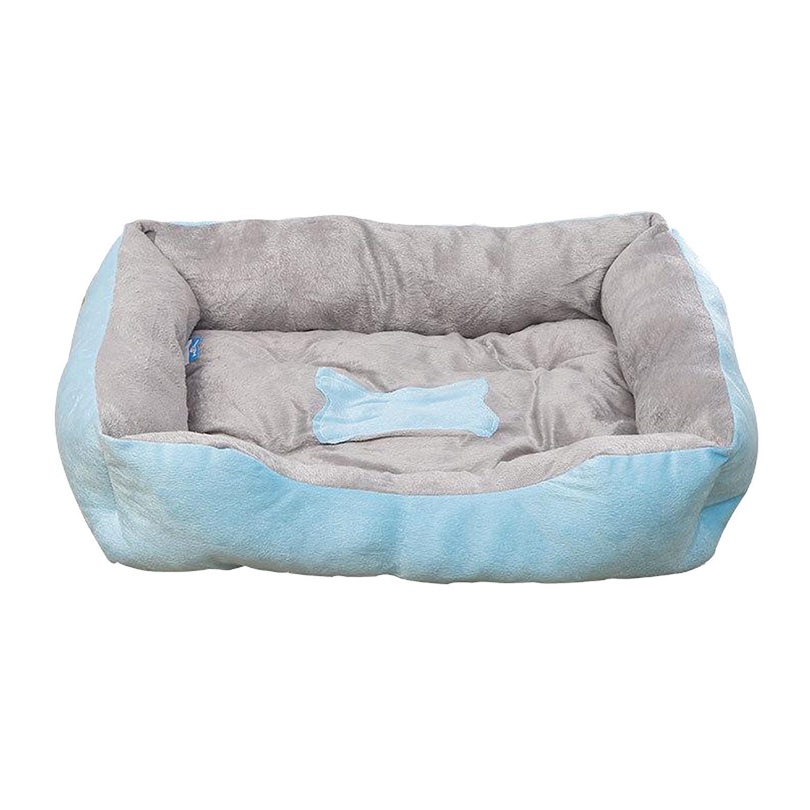 Indexbild 68 - Katze-Hund-Bett-Pet-Kissen-Betten-Haus-Schlaf-Soft-Warmen-Zwinger-Decke-Nest