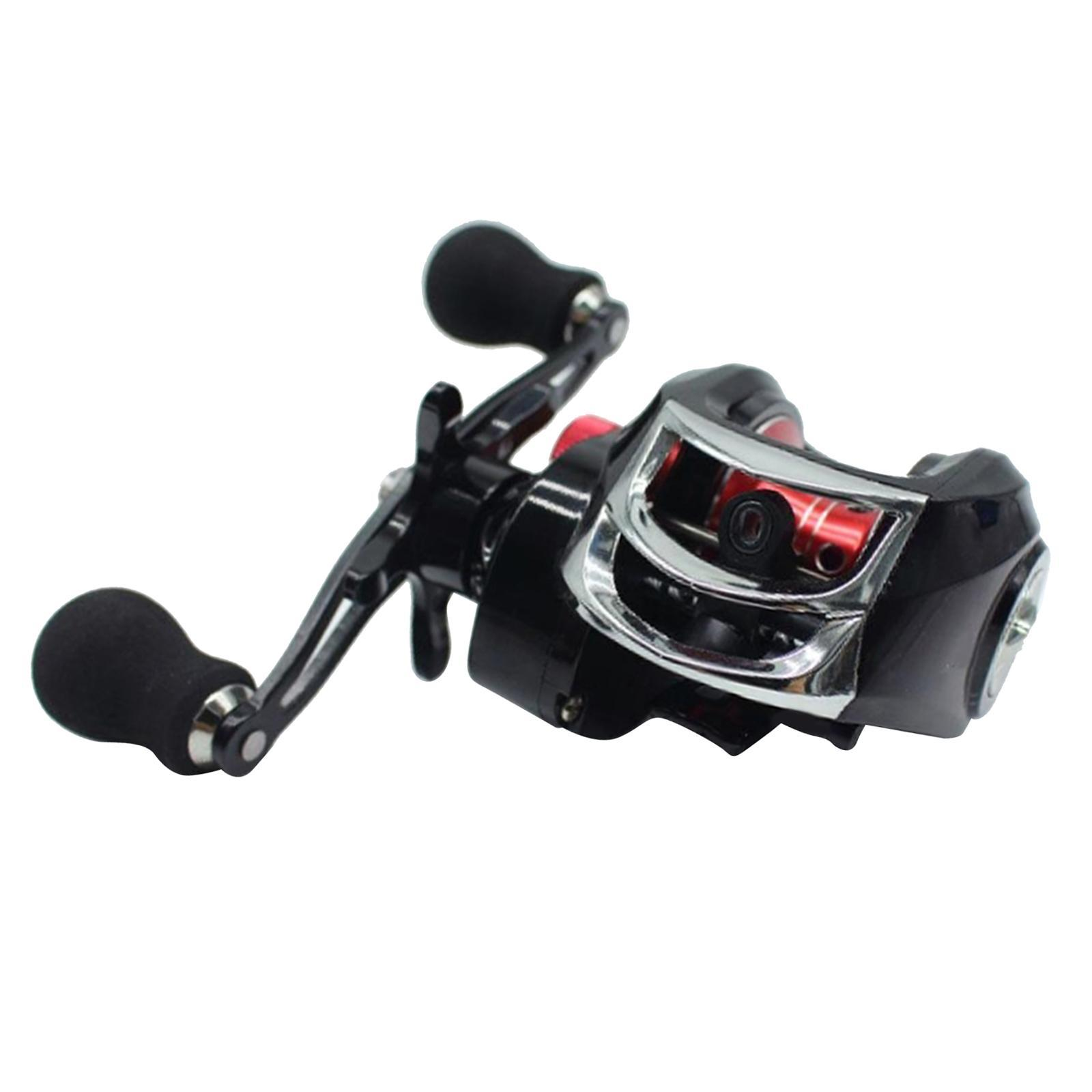 Full-Metal-Baitcaster-Low-Profile-Baitcasting-Fishing-Reel-Long-Casting-Reel thumbnail 7