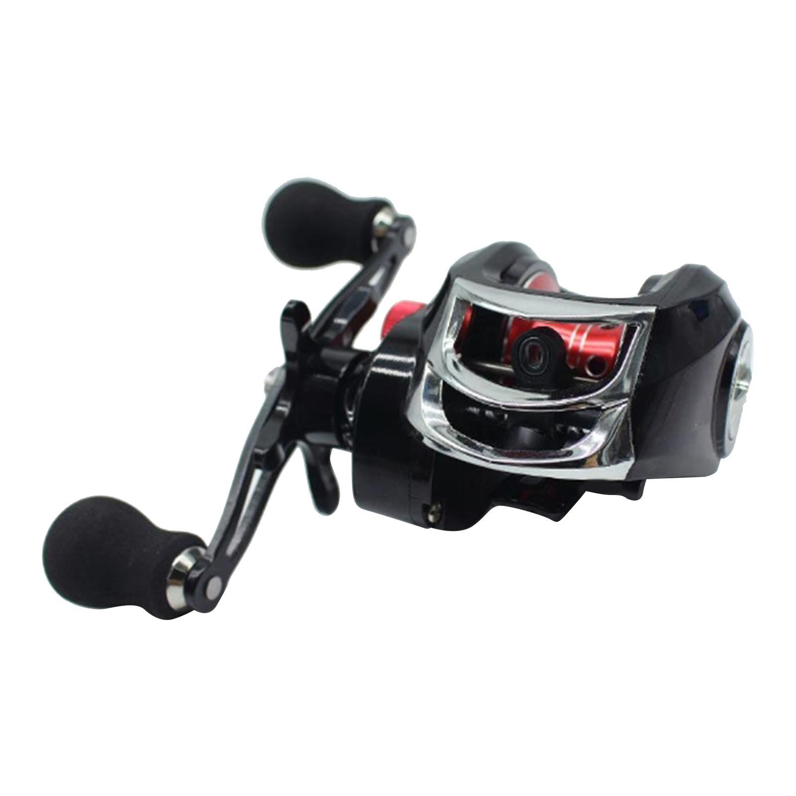 Full-Metal-Baitcaster-Low-Profile-Baitcasting-Fishing-Reel-Long-Casting-Reel thumbnail 10
