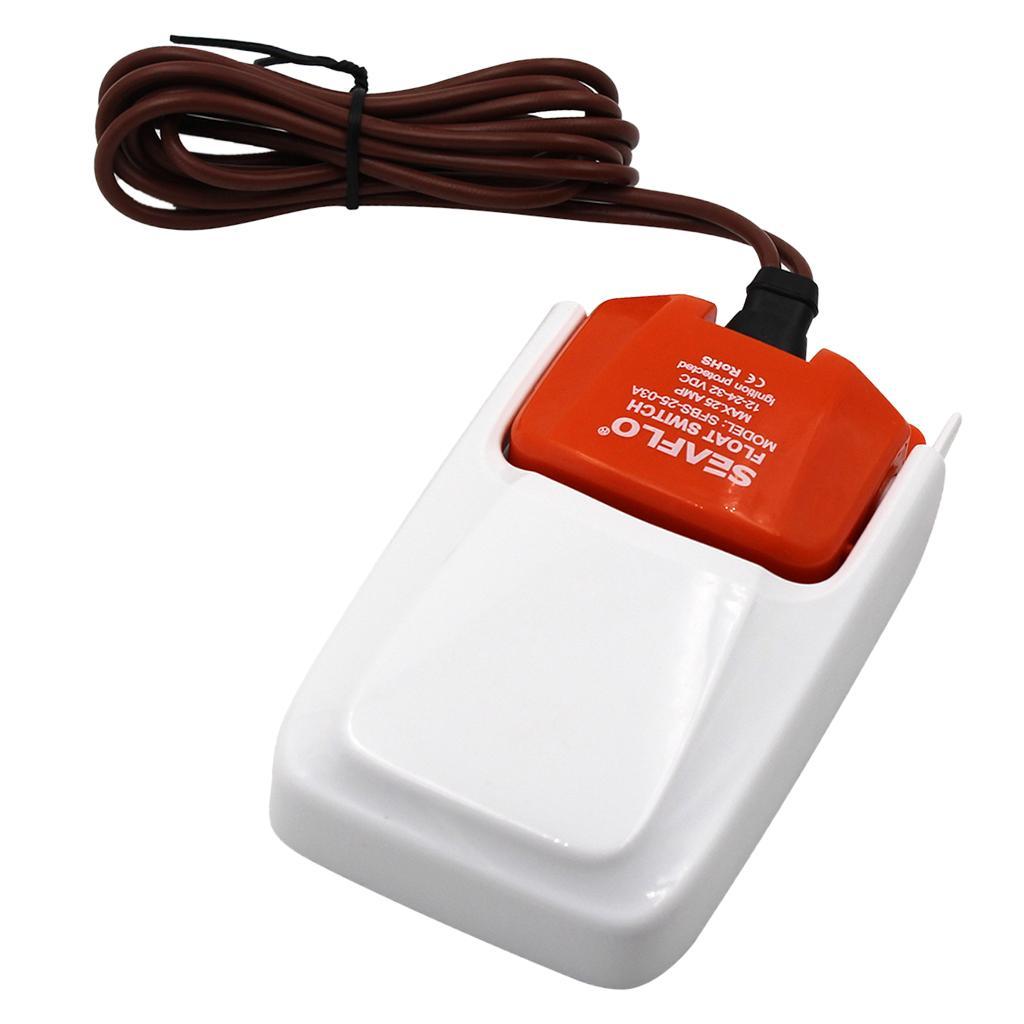 LANDUM Interrupteur /à Flotteur de Pompe de cale pour Bateau Automatique 12V 24V 32V Mercury prot/ég/é par allumage