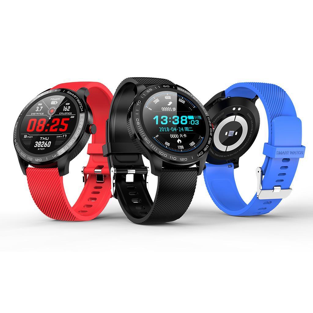 Smartwatch Armbanduhr Herzfrequenz Blutdruck..