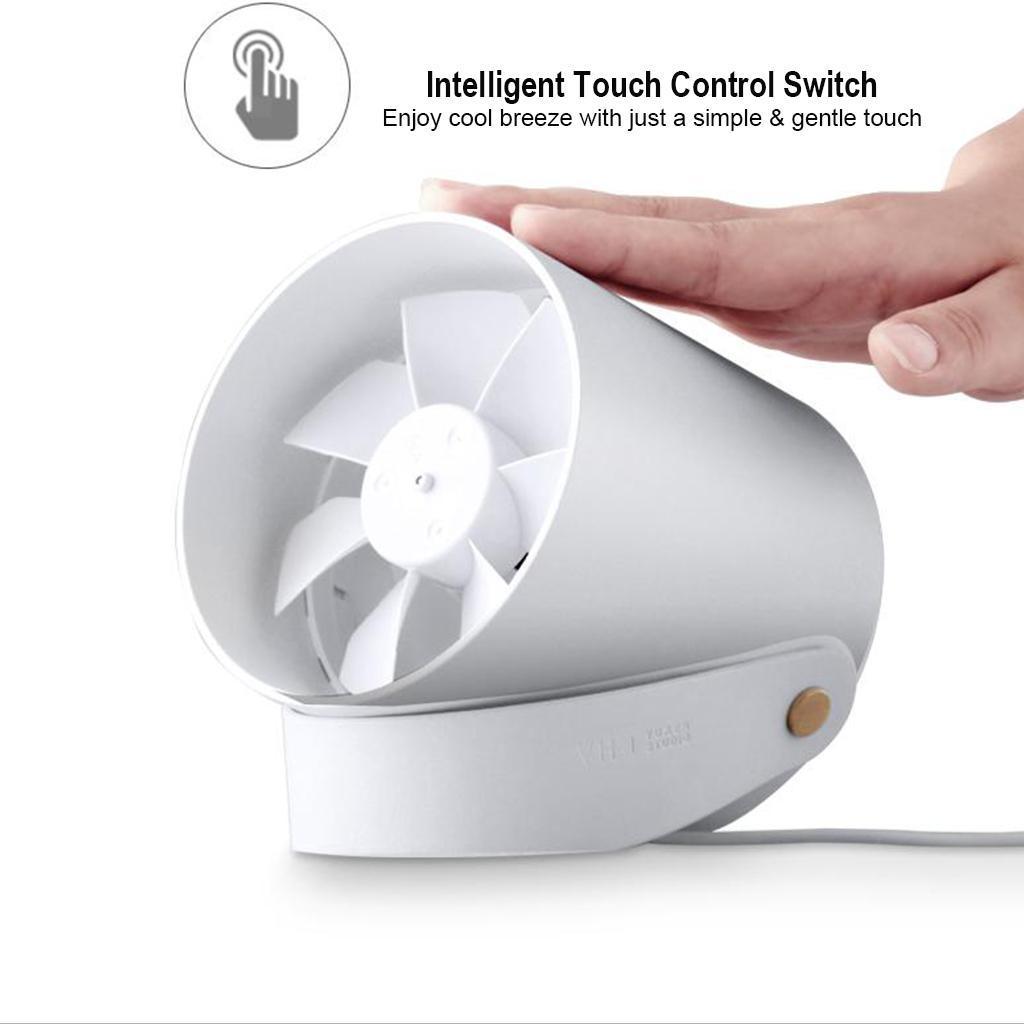 Mini-Ventilateur-De-Bureau-a-2-Modes-USB-Silencieux miniature 4