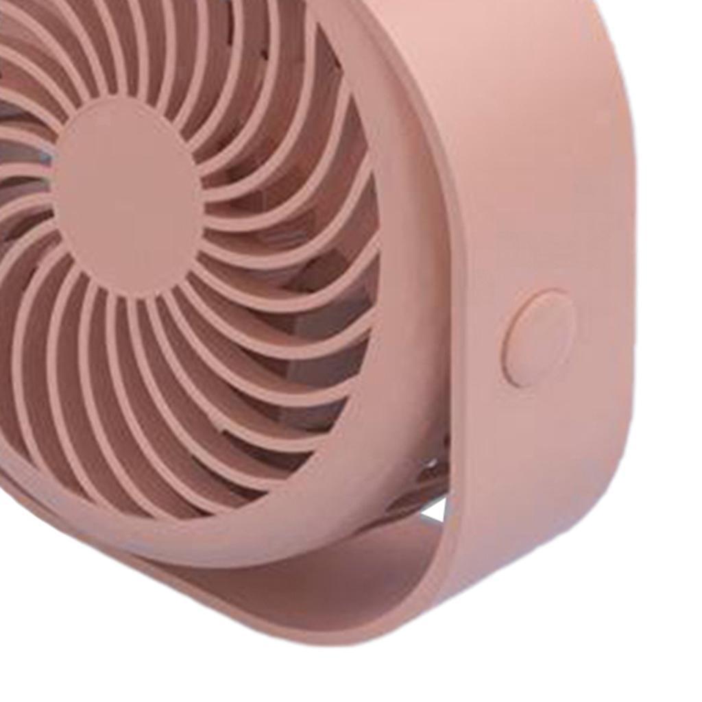 Le-ventilateur-de-bureau-d-039-usb-Compact-3-vitesses-le-vent-fort-de-bureau miniature 6