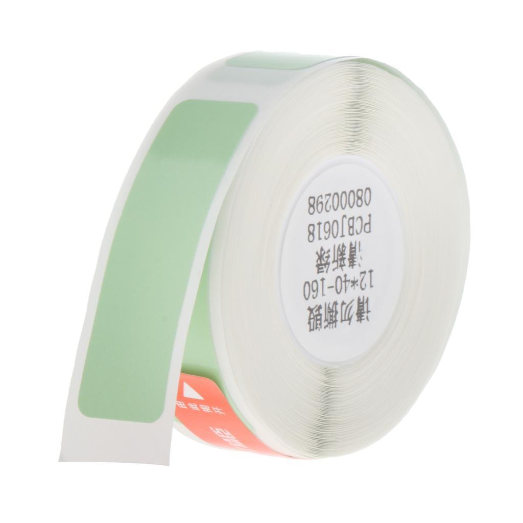 miniatura 16 - 2x etichette adesive per etichette per stampante termica Niimbot D11 Pure Color