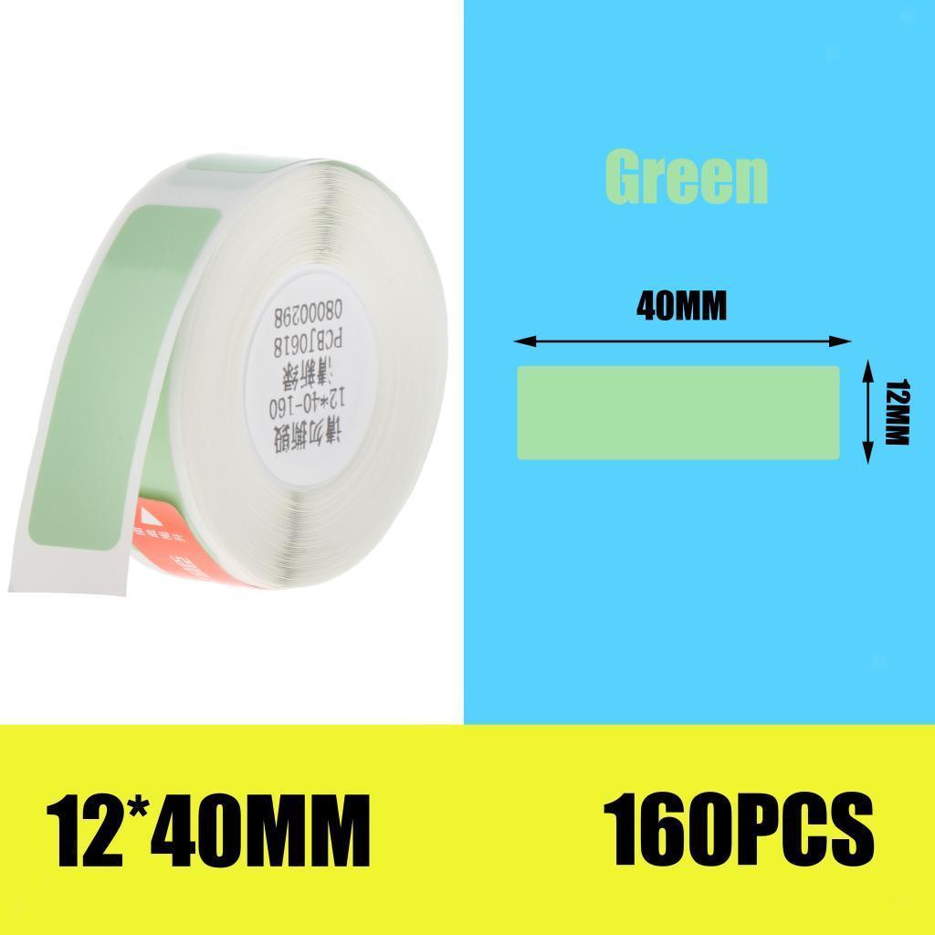 miniatura 15 - 2x etichette adesive per etichette per stampante termica Niimbot D11 Pure Color