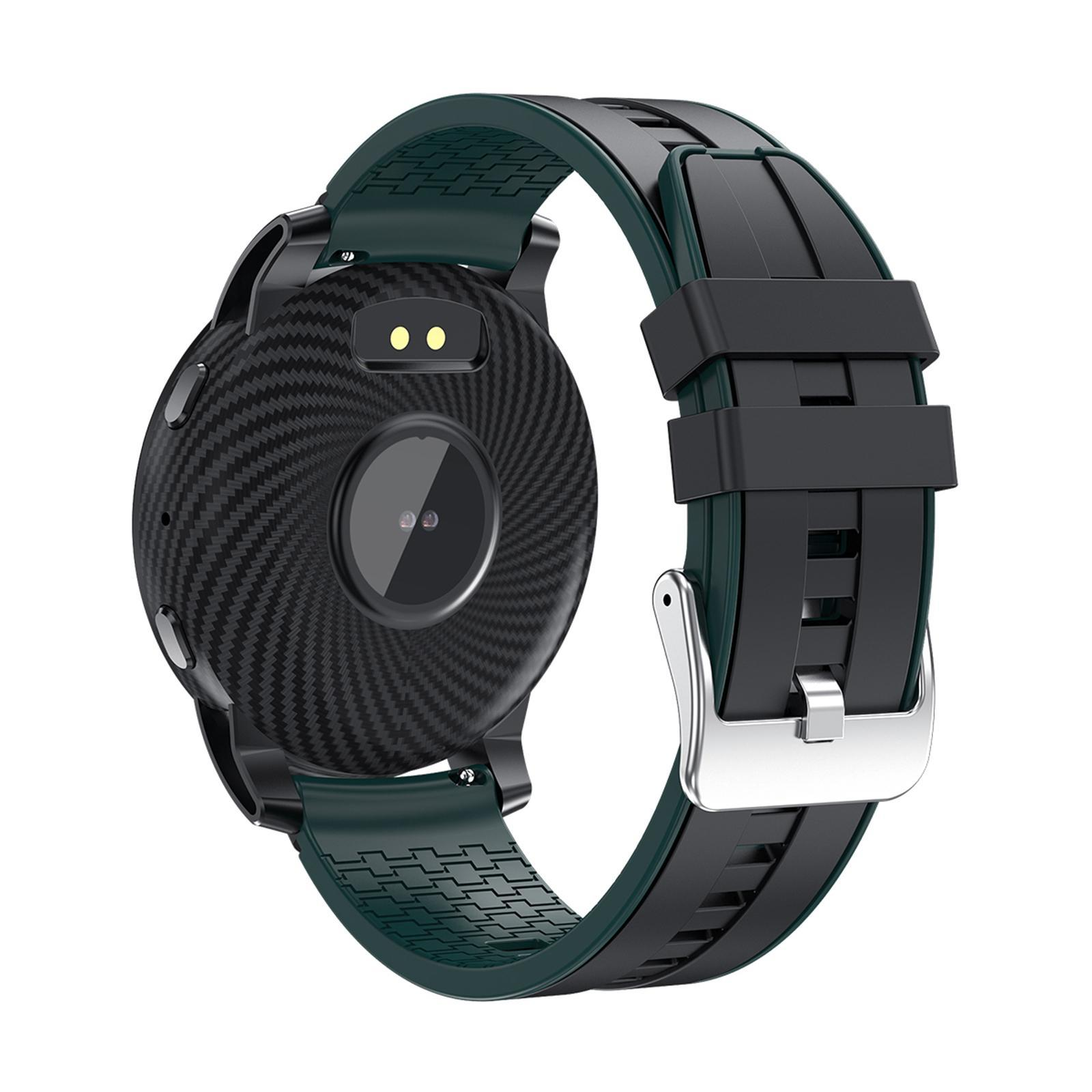 Hommes-Smart-Watch-Bluetooth-Call-Fitness-Tracker-frequence-cardiaque-sommeil miniature 47