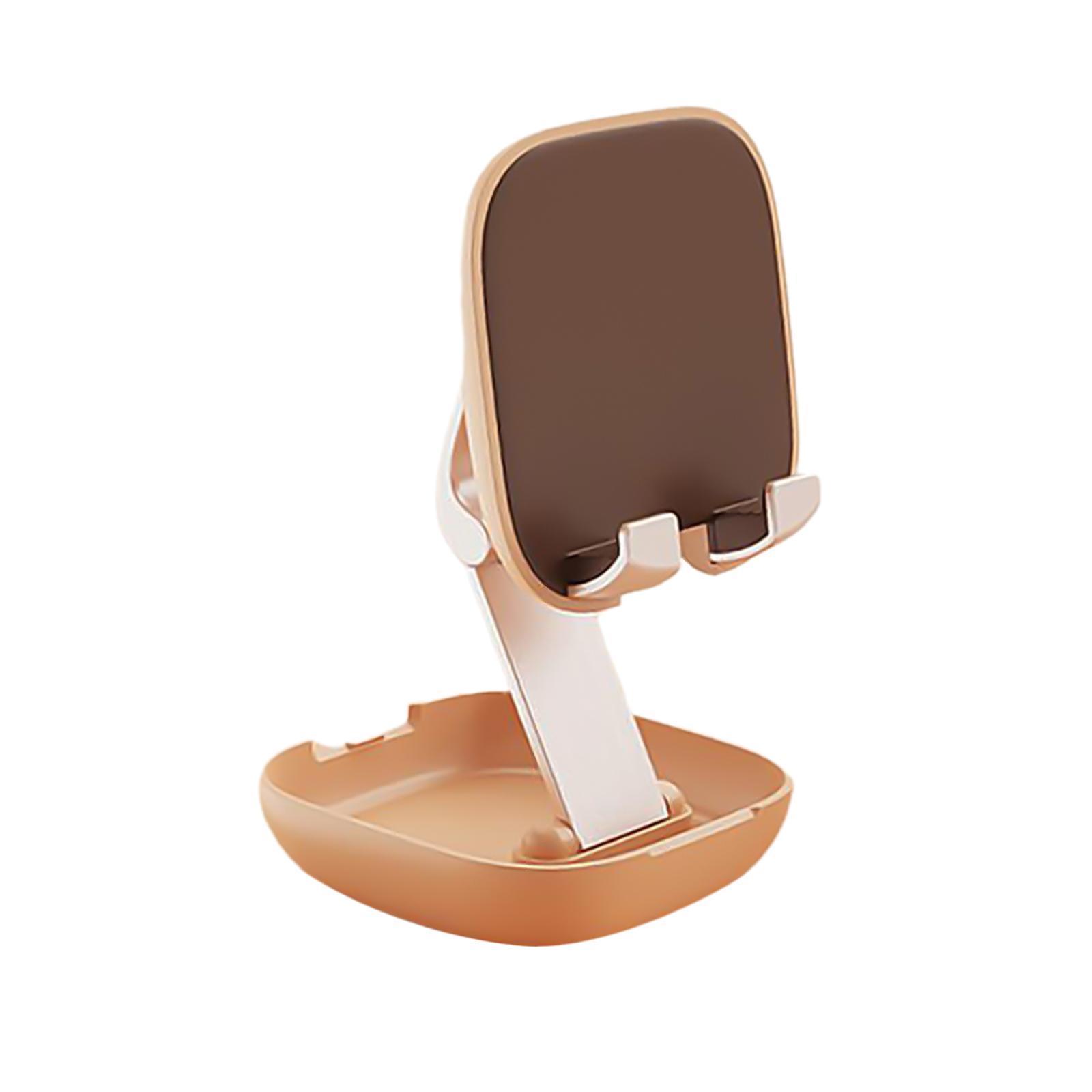 Reglable-Pliant-Mobile-Telephone-De-Bureau-Bureau-Tablet-Stand-Support-de-por miniature 28