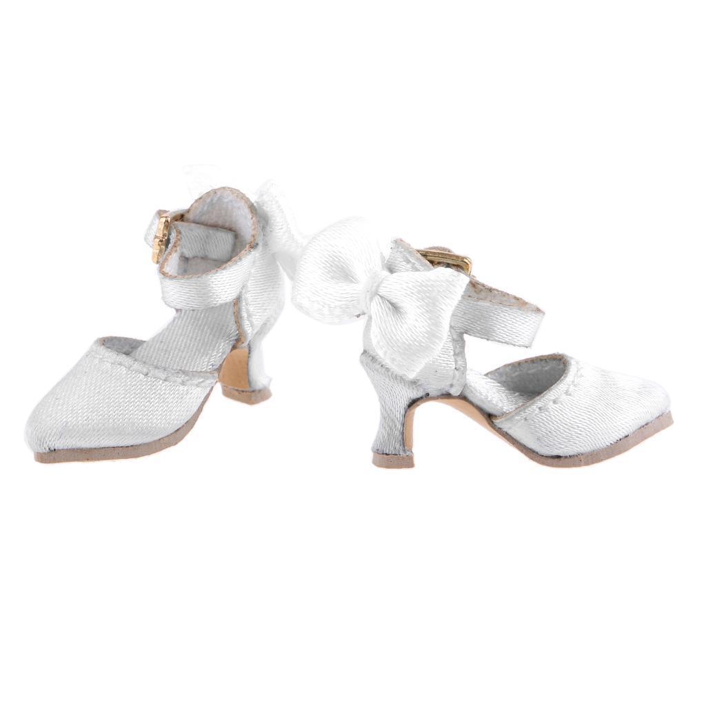 Enamel Block Heels for Blythe Doll