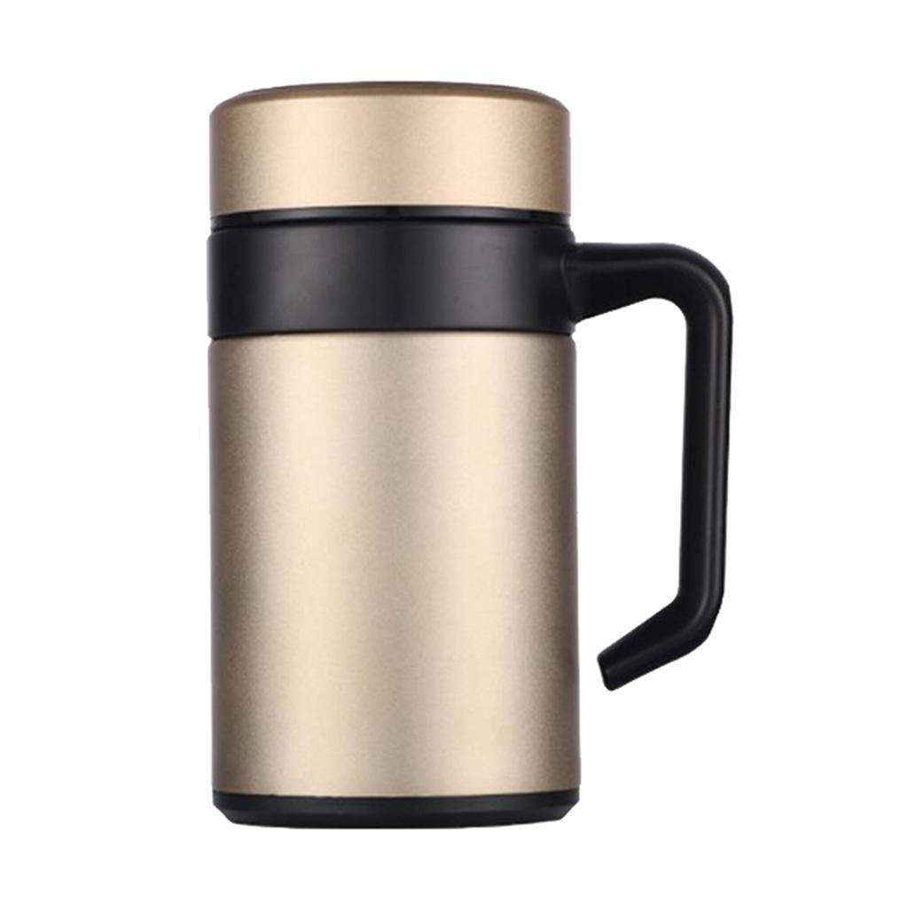 Stainless-400ml-Vacuum-Thermal-Cup-Insulated-Travel-Coffee-Mug-w-Tea-Filter thumbnail 6