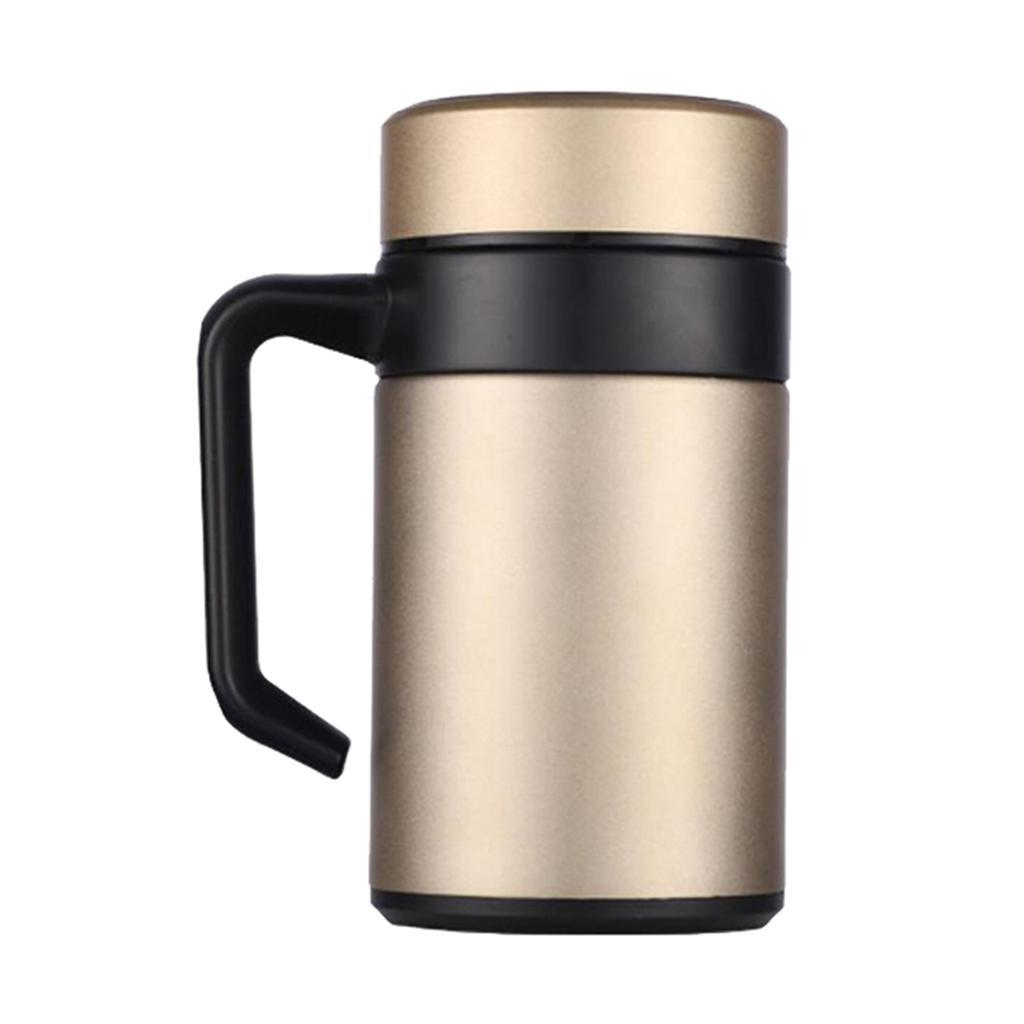 Stainless-400ml-Vacuum-Thermal-Cup-Insulated-Travel-Coffee-Mug-w-Tea-Filter thumbnail 7
