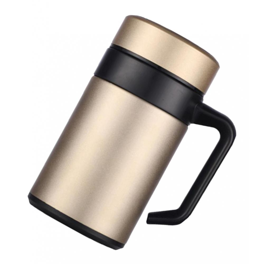 Stainless-400ml-Vacuum-Thermal-Cup-Insulated-Travel-Coffee-Mug-w-Tea-Filter thumbnail 8