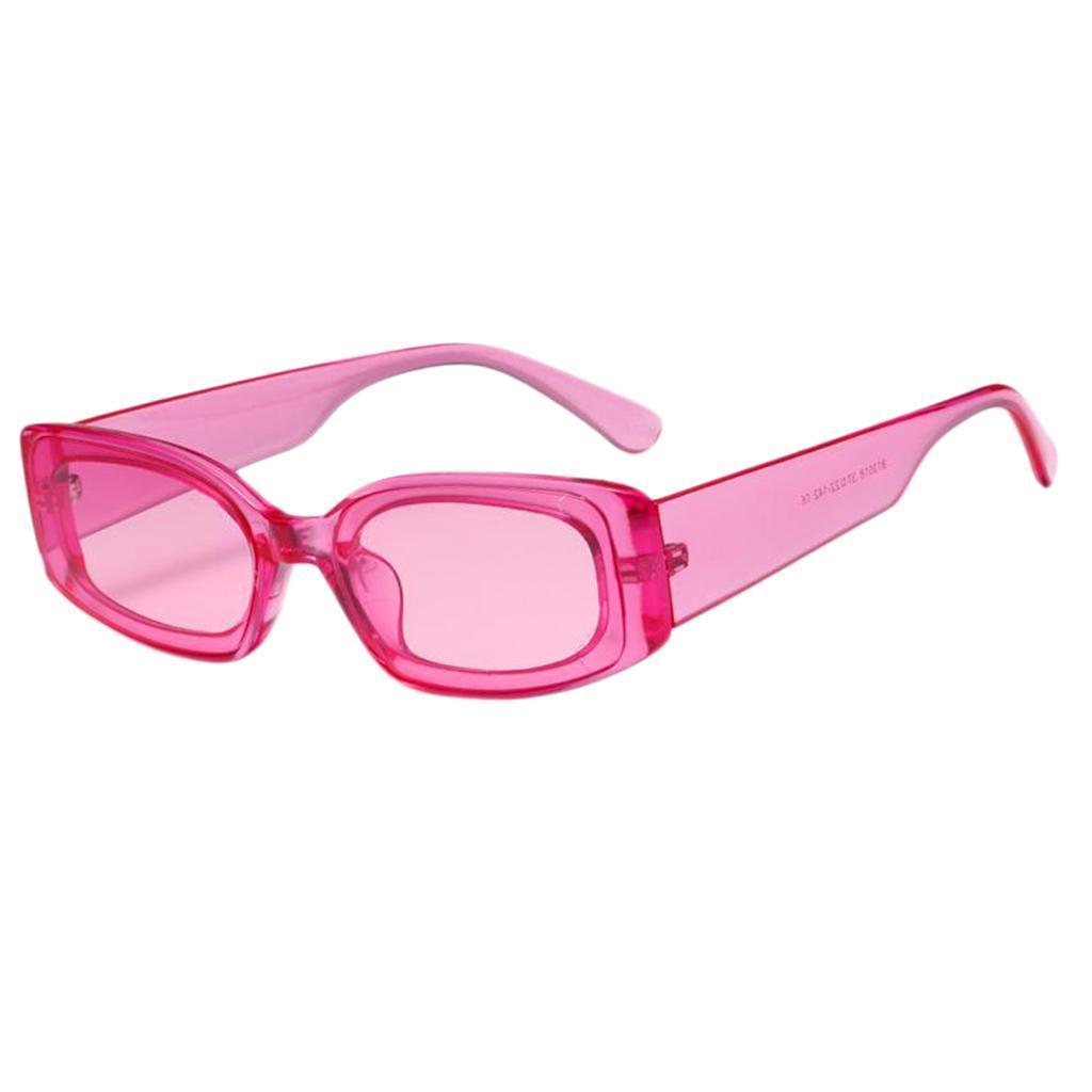 Frauen-Mens-Square-Sonnenbrillen-Fashion-Candy-Farbe-Sonnenbrille-Shade Indexbild 4