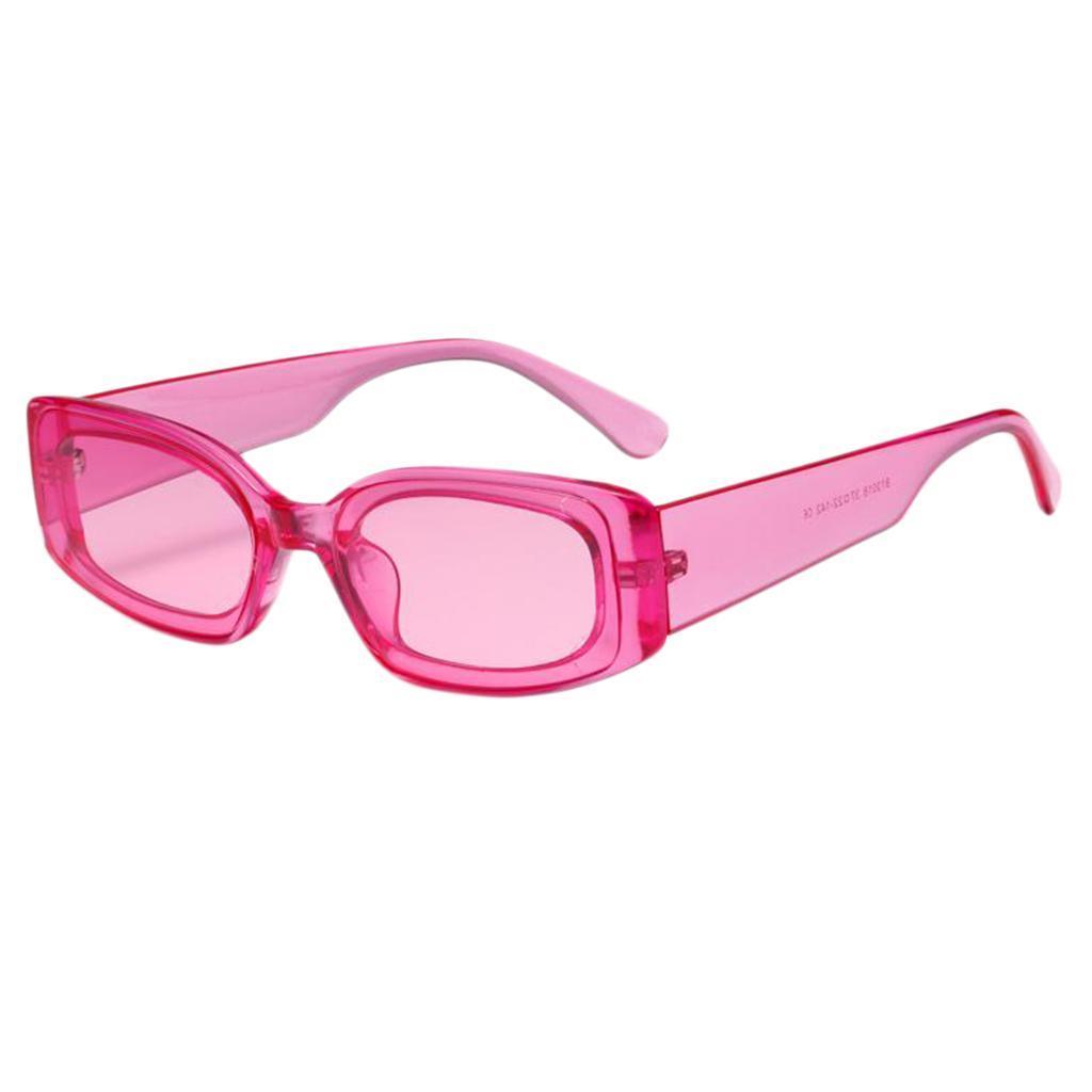Frauen-Mens-Square-Sonnenbrillen-Fashion-Candy-Farbe-Sonnenbrille-Shade Indexbild 3