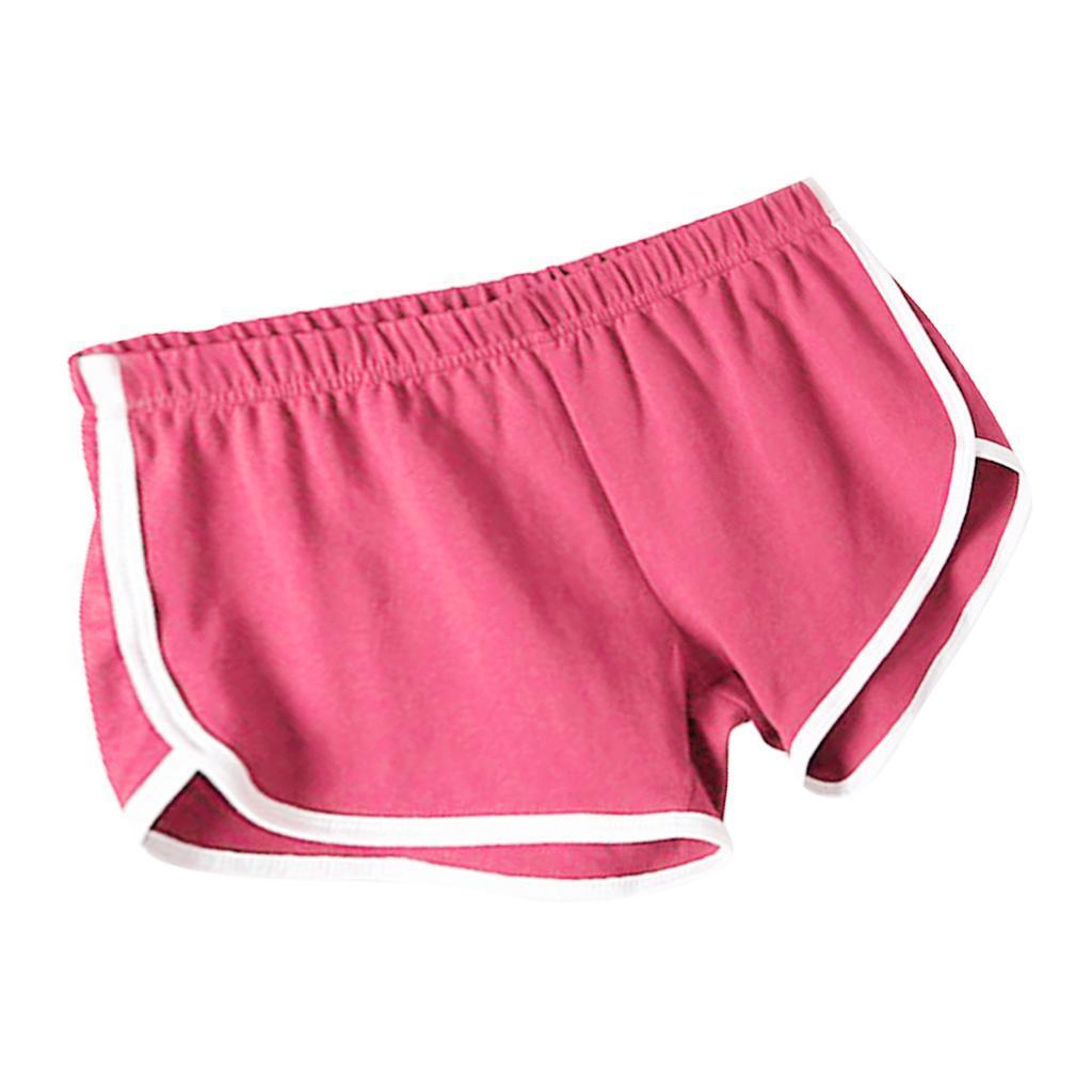 Shorts-de-sport-en-soie-de-lait-pour-femmes-Yoga-Dance-Pantalons-courts-Shorts miniature 10