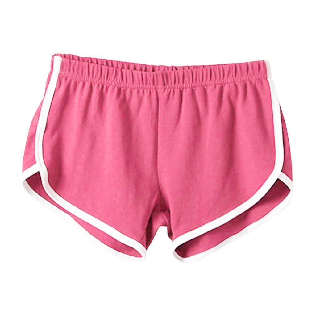 Shorts-de-sport-en-soie-de-lait-pour-femmes-Yoga-Dance-Pantalons-courts-Shorts miniature 9