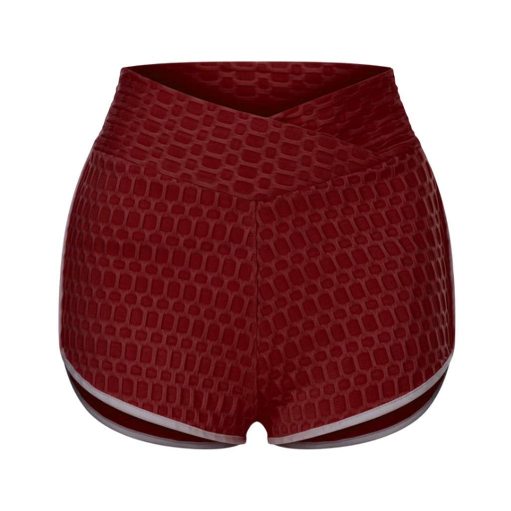 miniature 108 - Pantalons chauds femmes taille haute shorts de yoga fesses de levage Scrunch