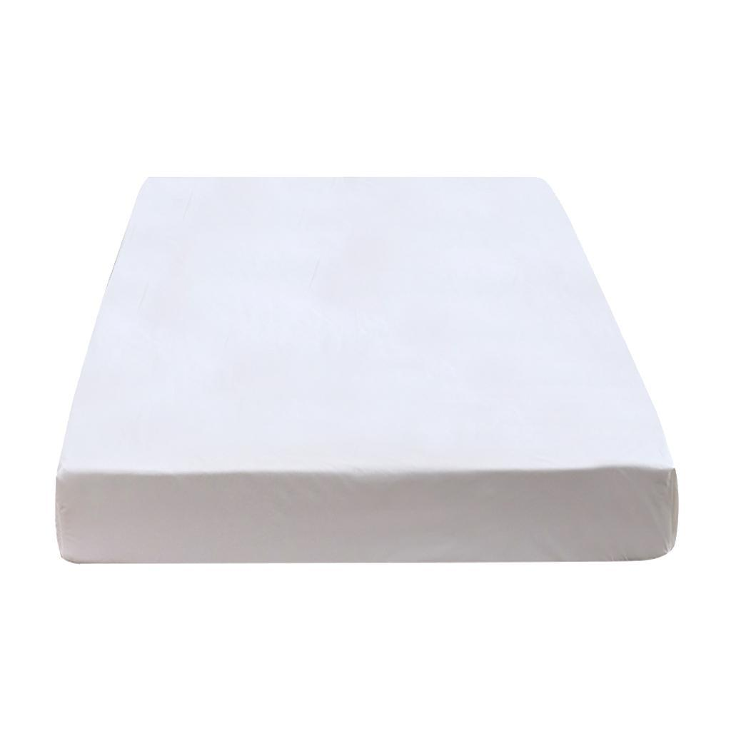 King-Queen-Waterproof-Fitted-Mattress-Cover-Protector-Bed-Topper-Sheet thumbnail 4