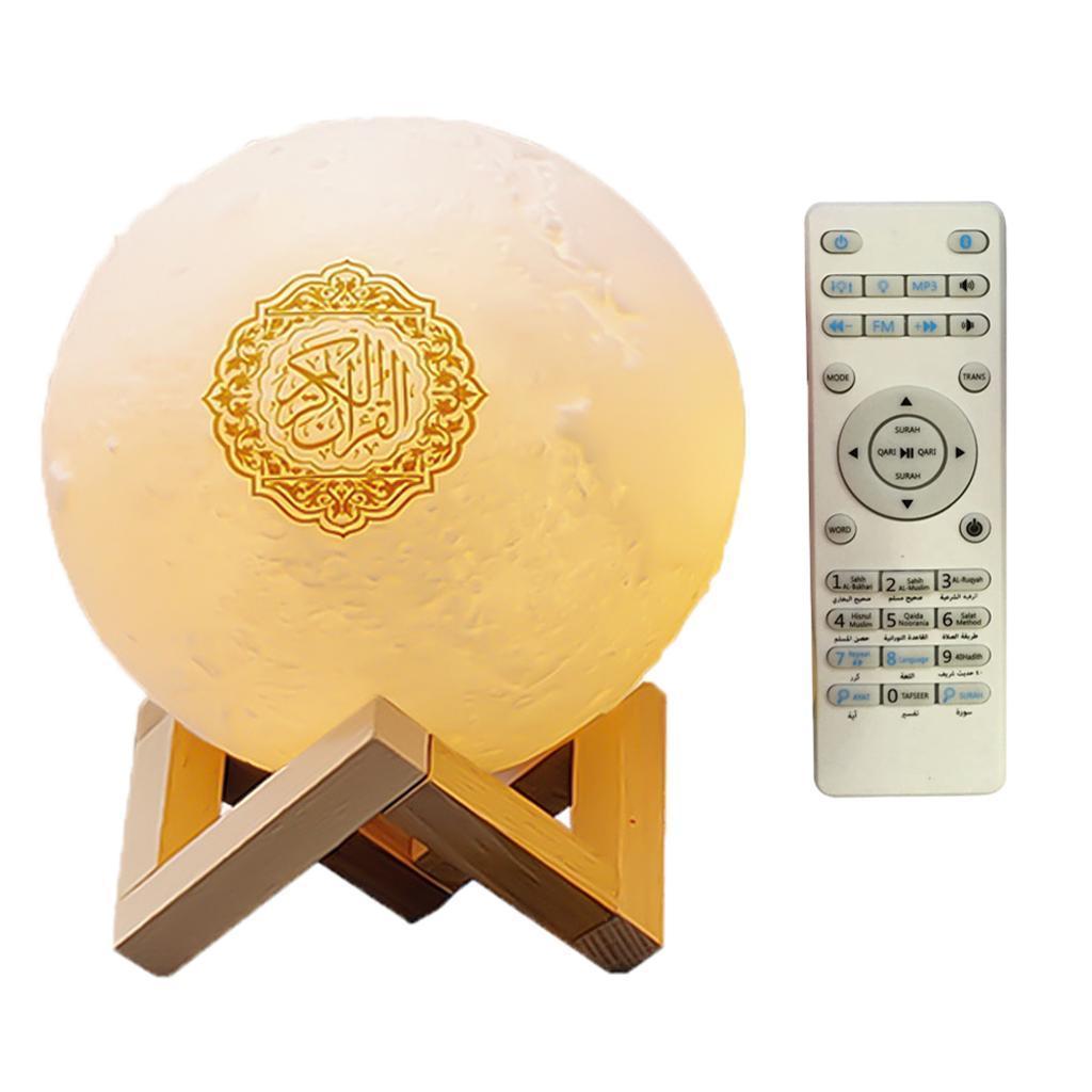 Di-notte-del-LED-3D-Lampada-con-Supporto-di-Legno-Da-Tavolo-Da-Tavolo-a-Casa miniatura 4